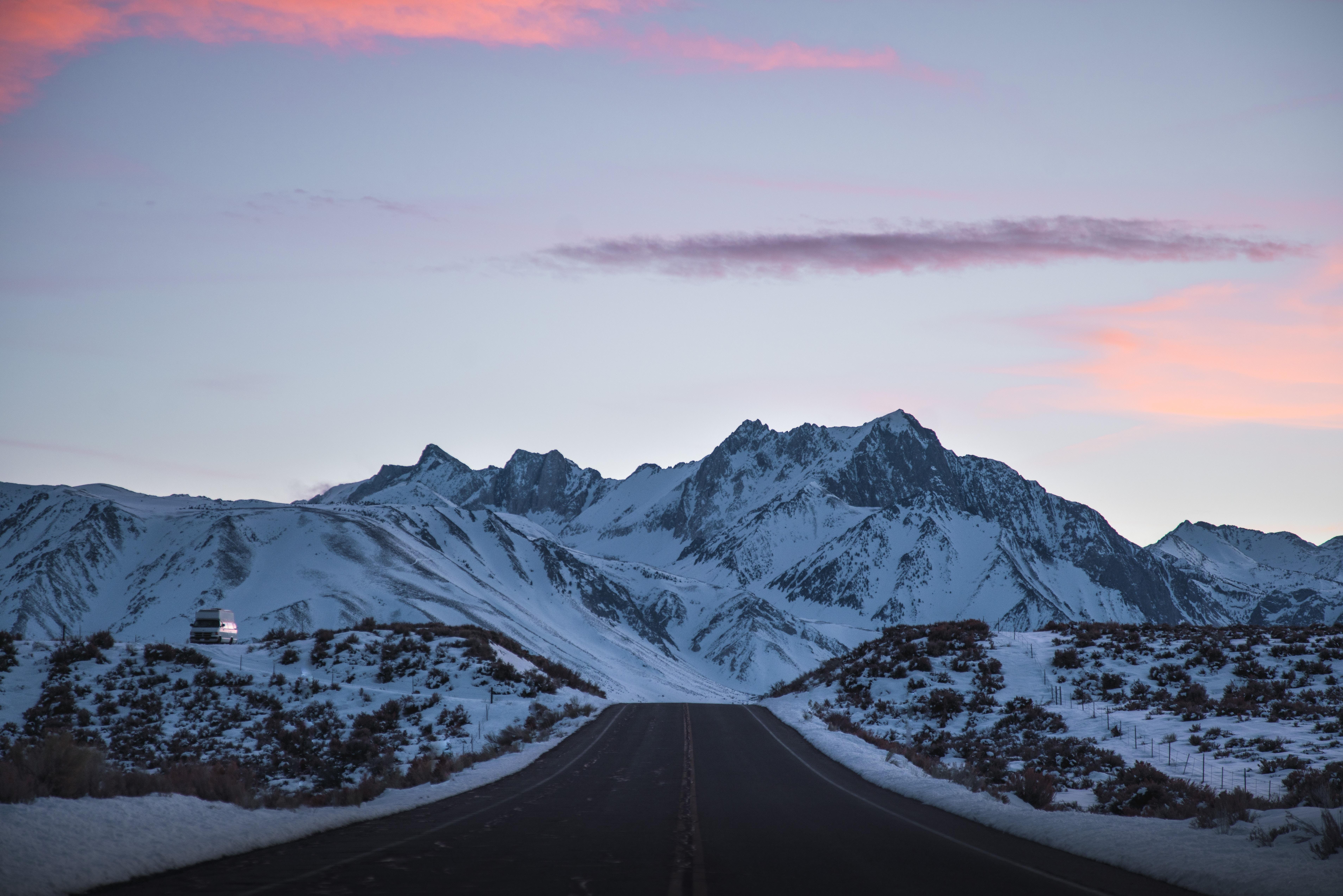 road outdoors snowy peak 1574939474 - Road Outdoors Snowy Peak -