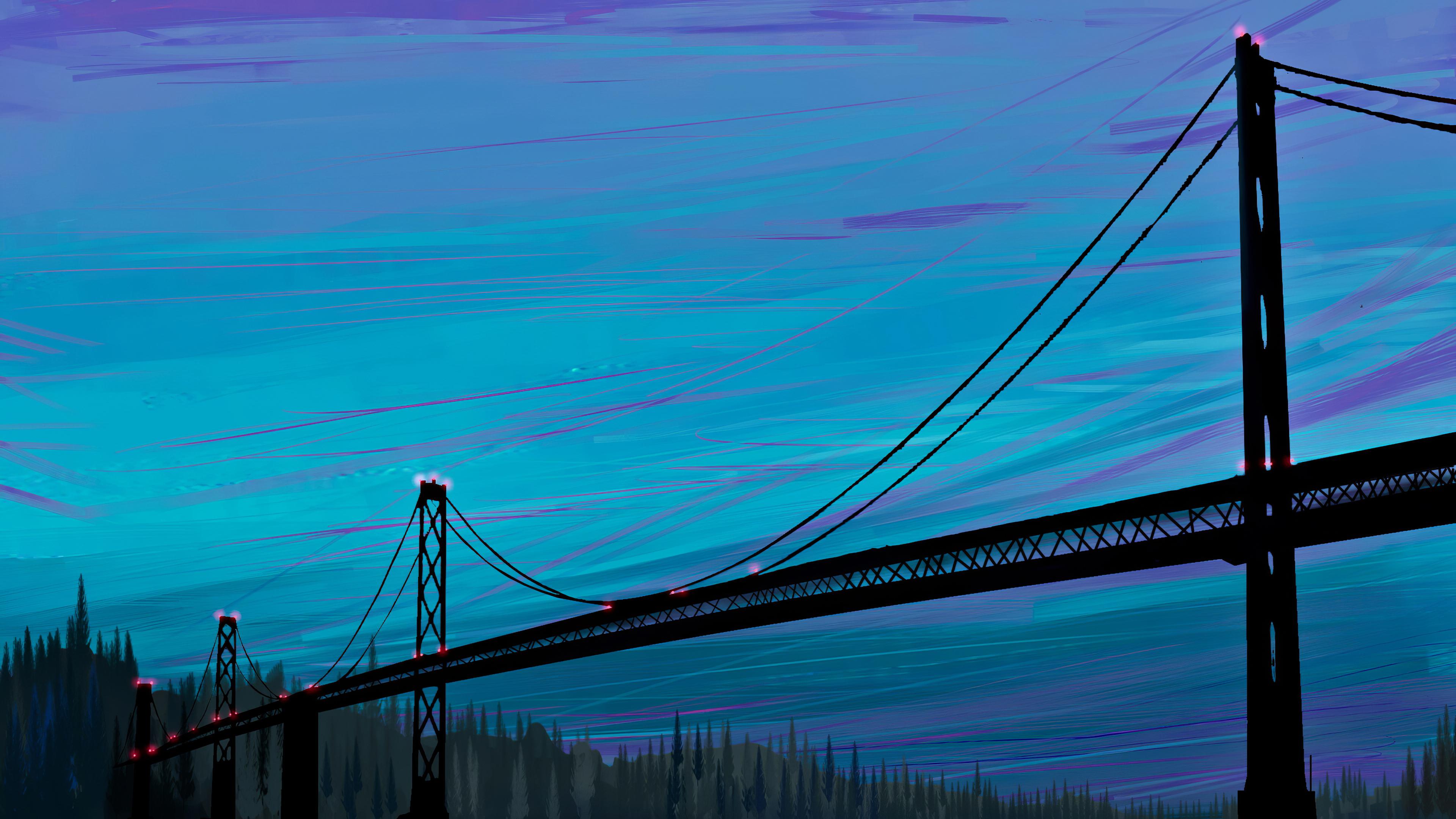 sea bridge digital art 1574940856 - Sea Bridge Digital Art -