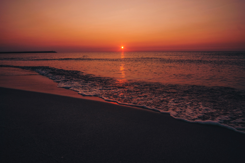 seashore during sunset 1574937674 - Seashore During Sunset -