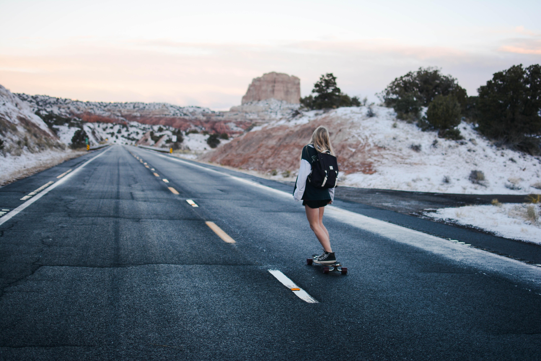 skateboard girl 1574938553 - Skateboard Girl -