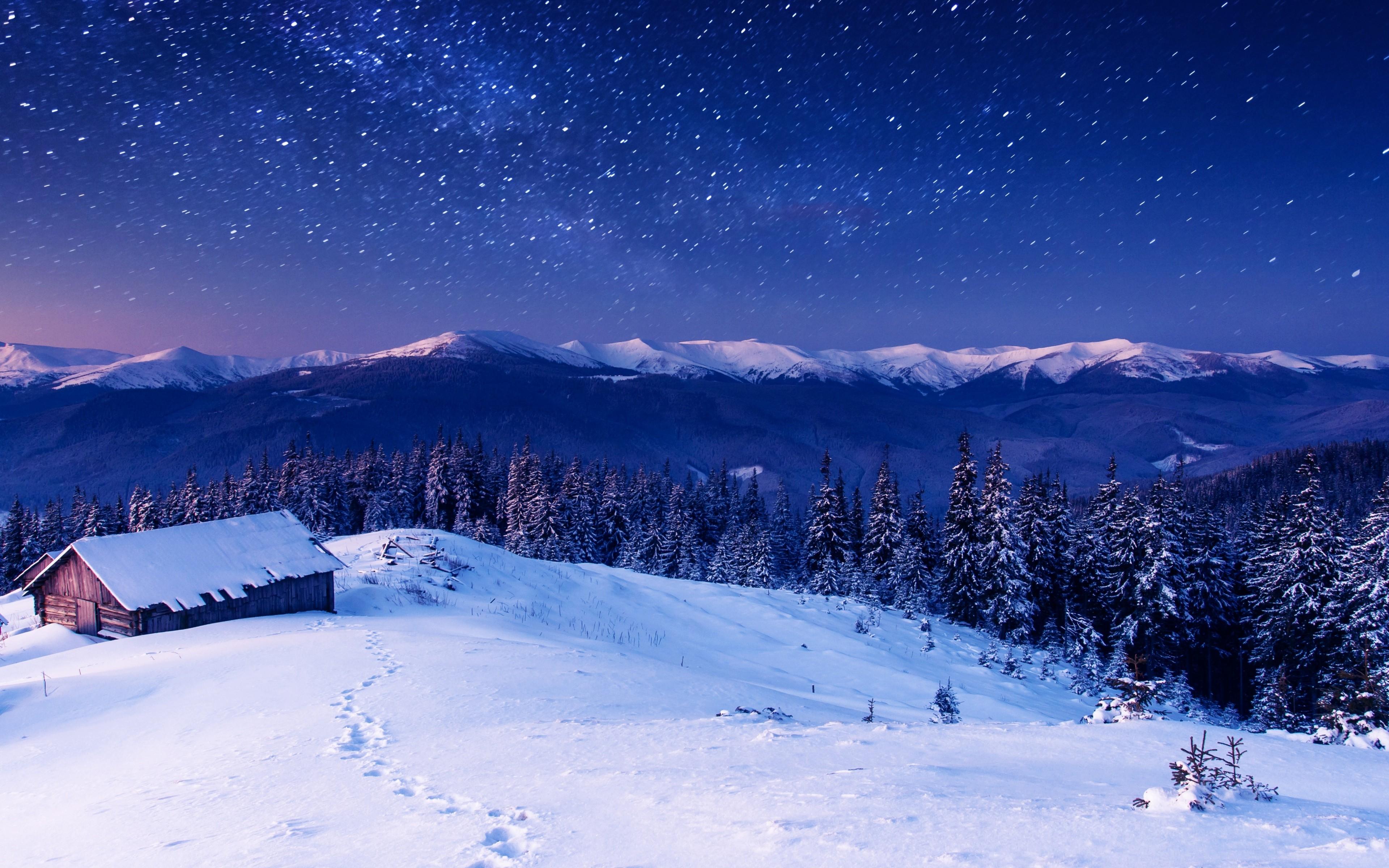 sky winter stars mountains 1574939508 - Sky Winter Stars Mountains -