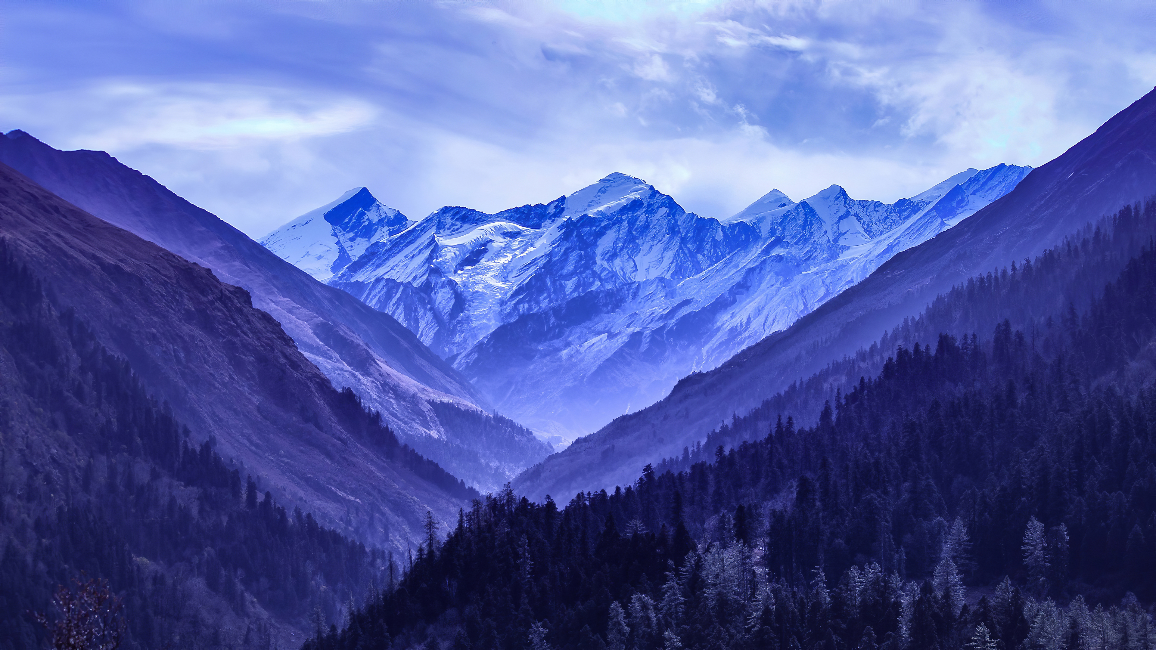 snowy blue mountains 1574937645 - Snowy Blue Mountains -