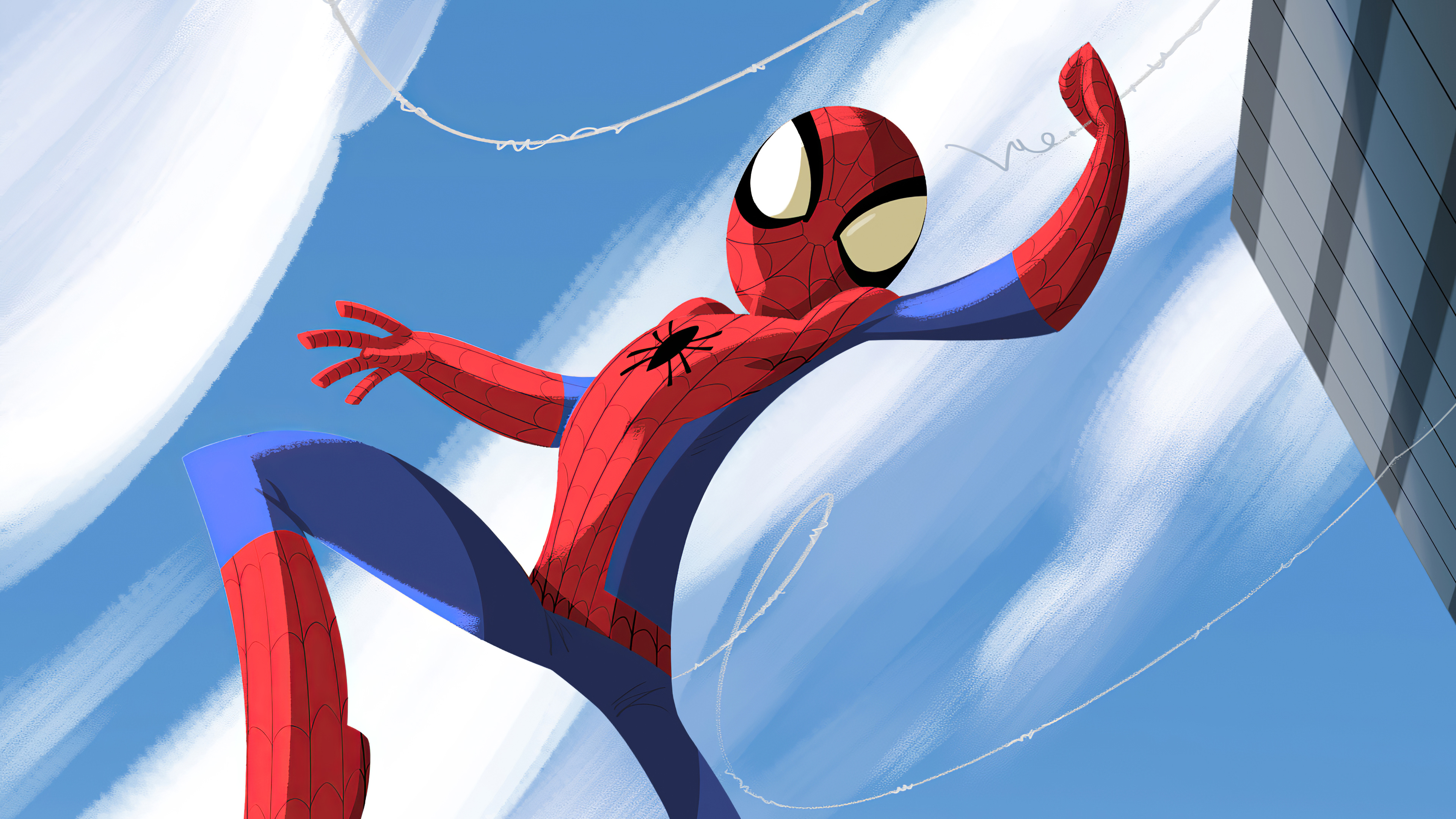 spiderman jumping through 1574274751 - Spiderman Jumping Through -