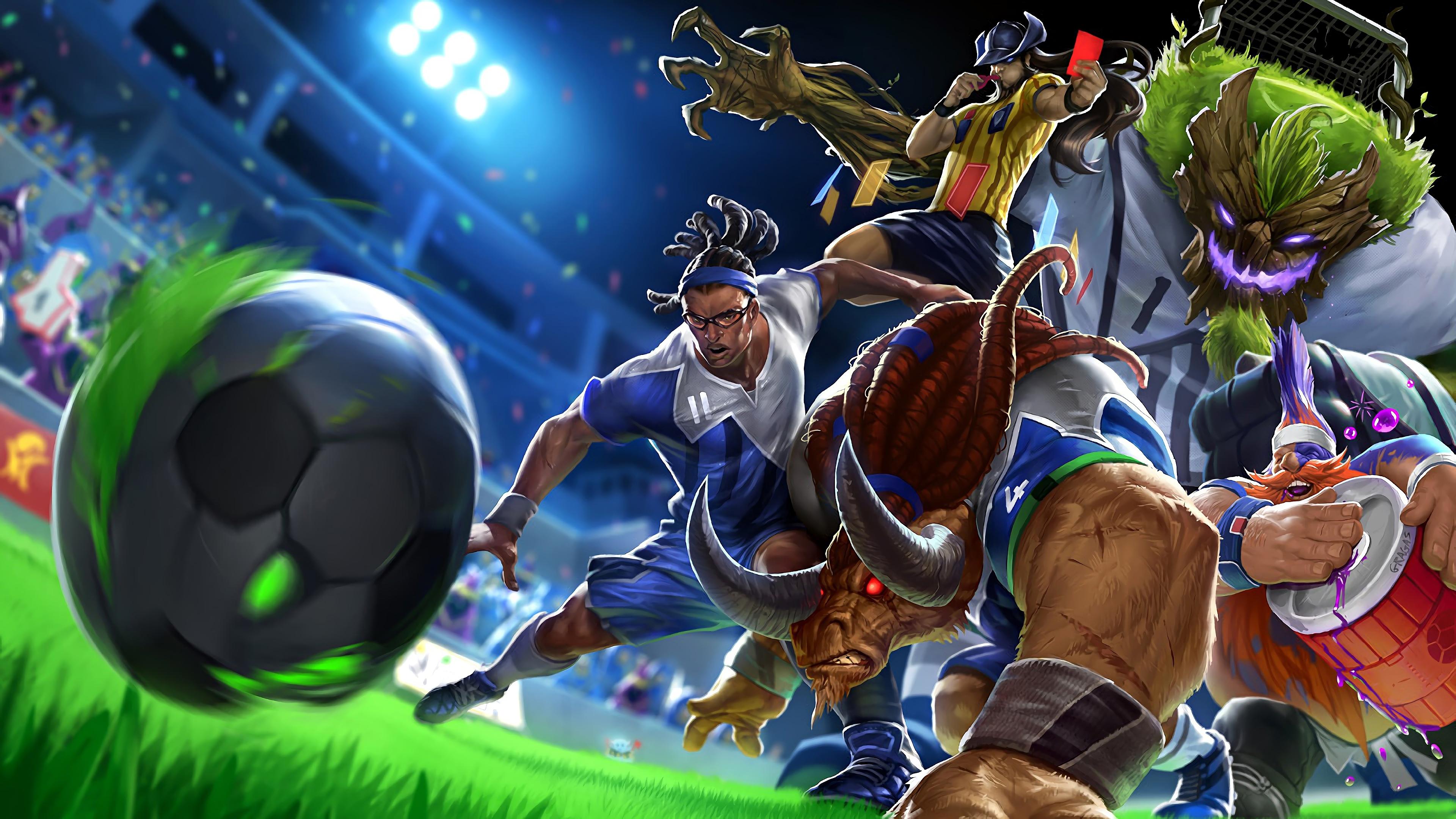 Wallpaper 4k Striker Lucian Sweeper Alistar Superfan Gragas