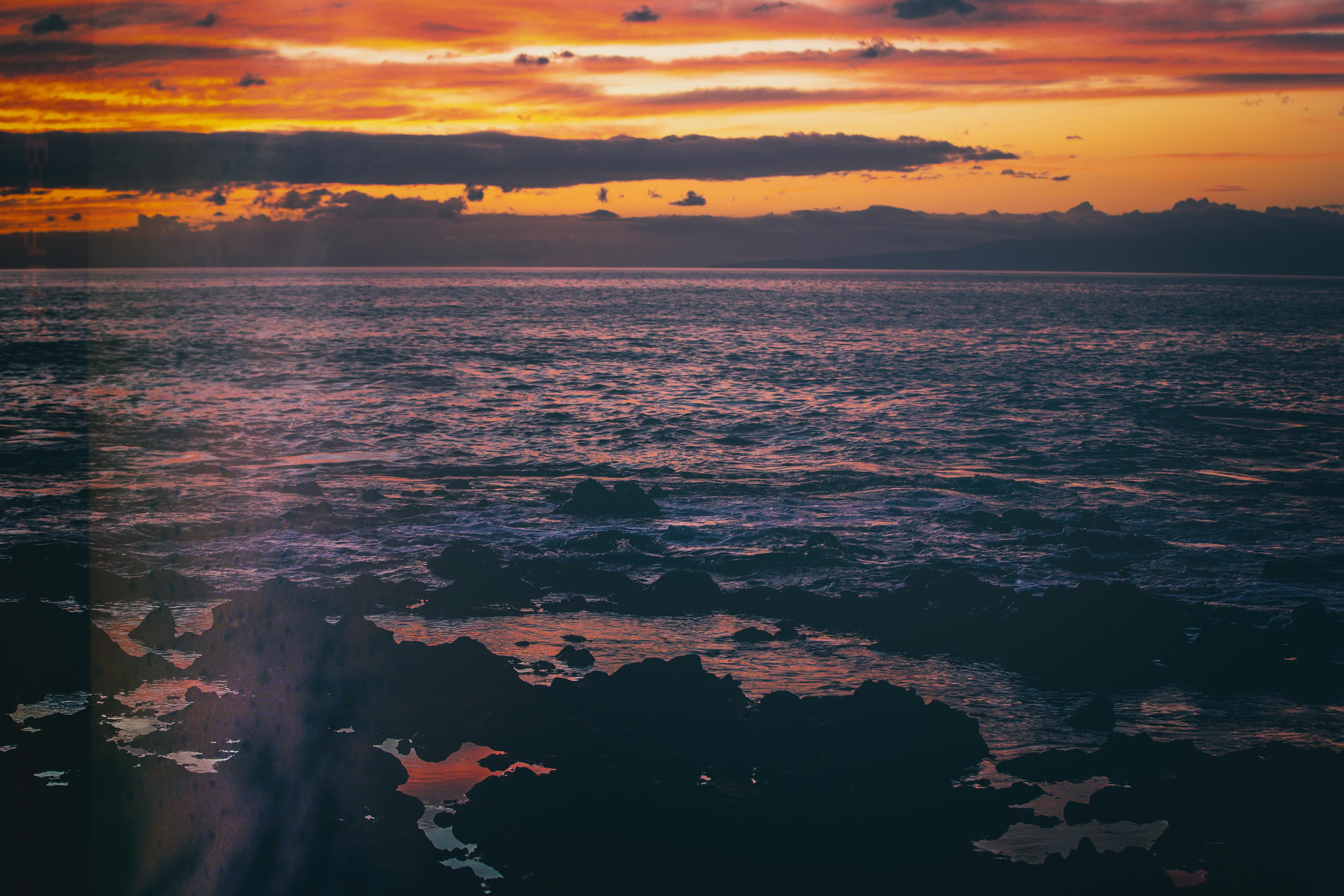 sunset sea evening 1574937786 - Sunset Sea Evening -