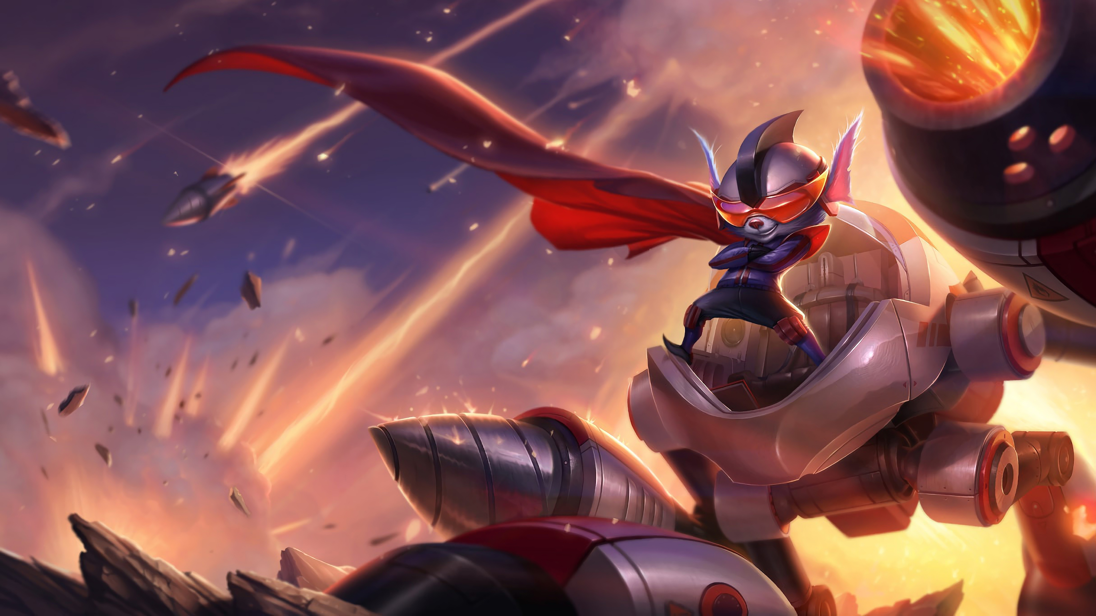super galaxy rumble lol splash art league of legends 1574099240 - Super Galaxy Rumble LoL Splash Art League of Legends - Rumble, league of legends