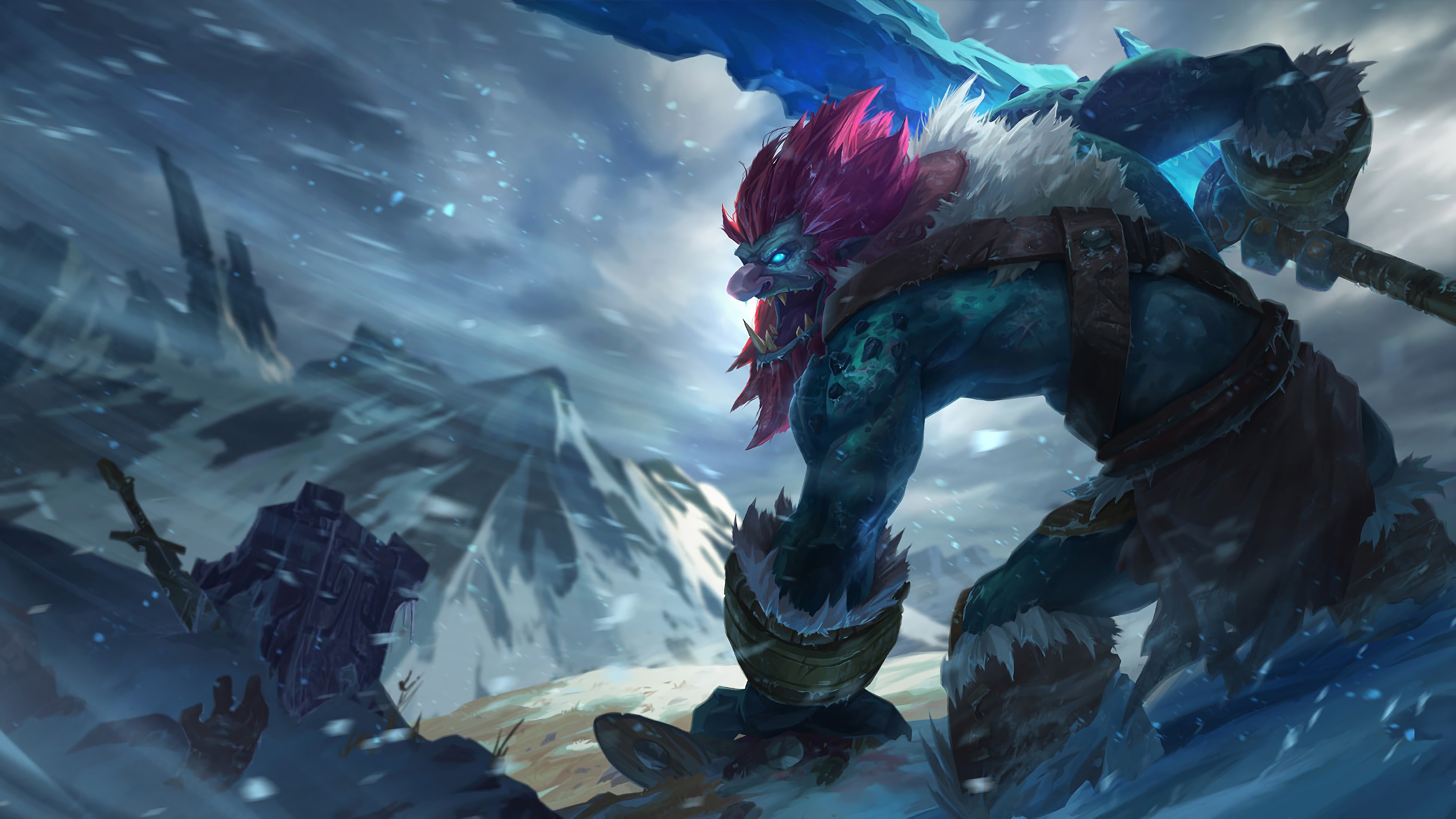 trundle lol splash art league of legends 1574098583 - Trundle LoL Splash Art League of Legends - Trundle, league of legends