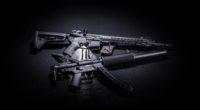 two black assault rifles 1574938886 200x110 - Two Black Assault Rifles -
