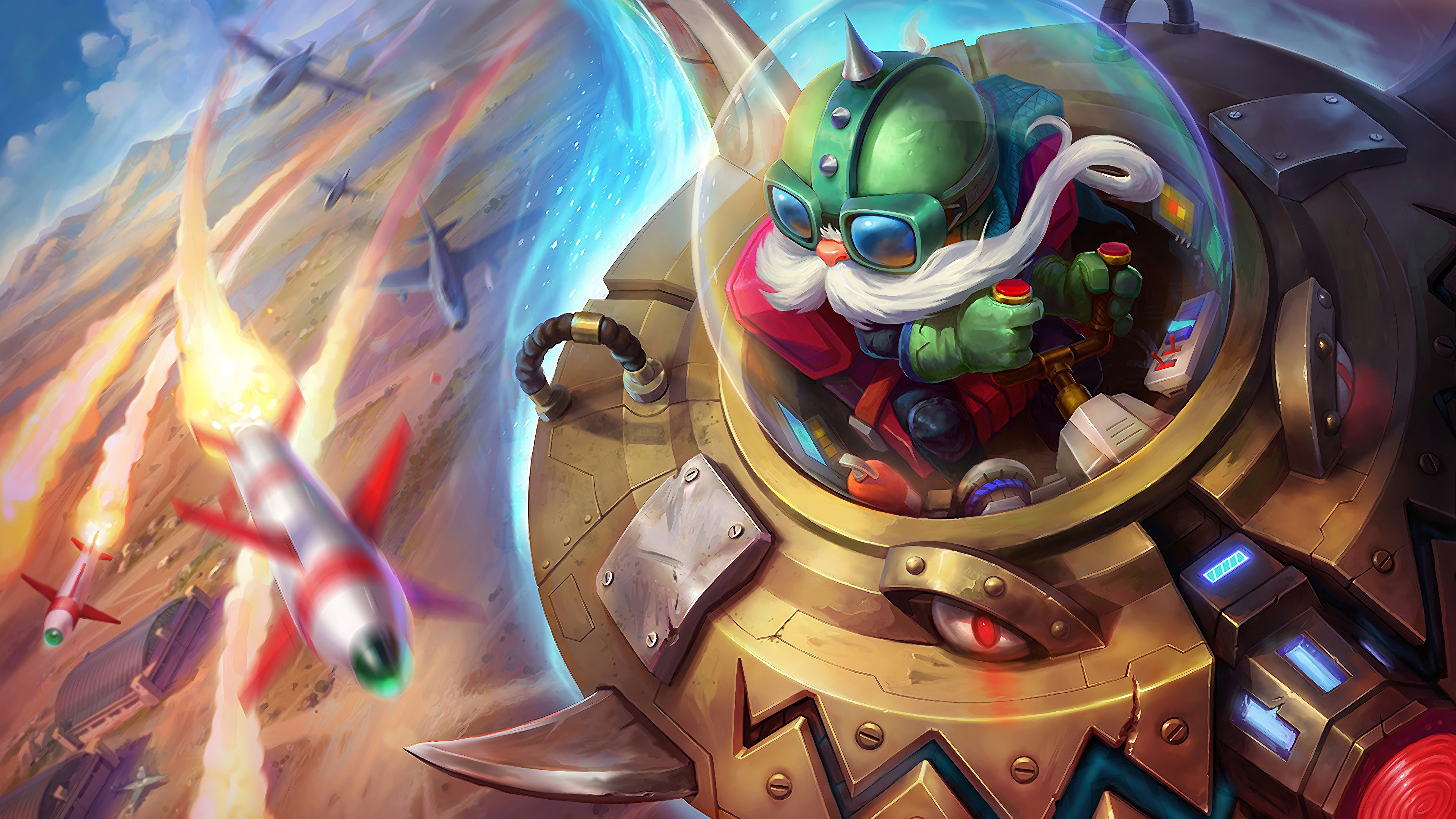 ufo corki lol splash art league of legends 1574099736 - Ufo Corki LoL Splash Art League of Legends - league of legends, Corki