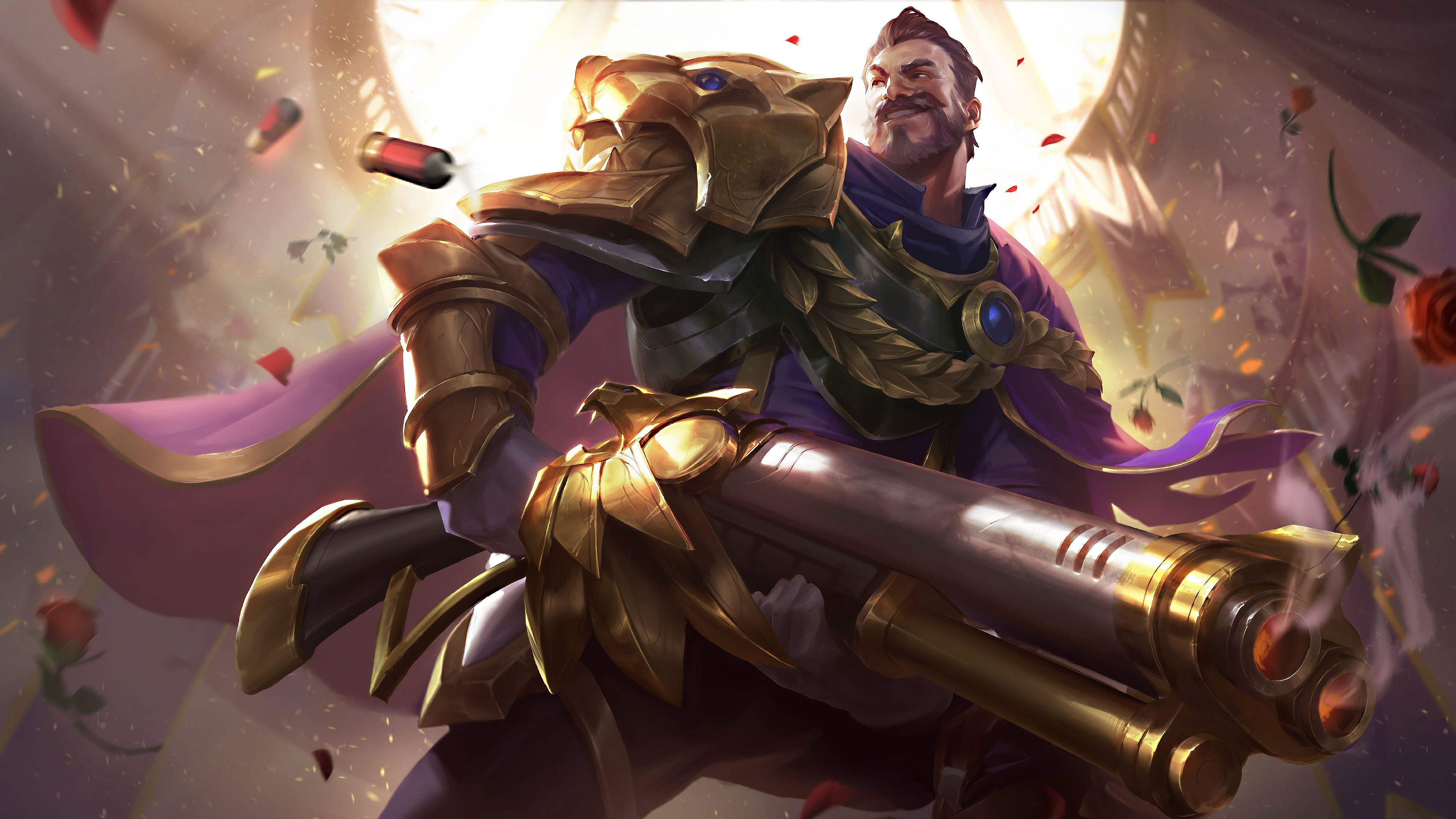 Victorious Graves LoL Splash Art League of Legends lol ...