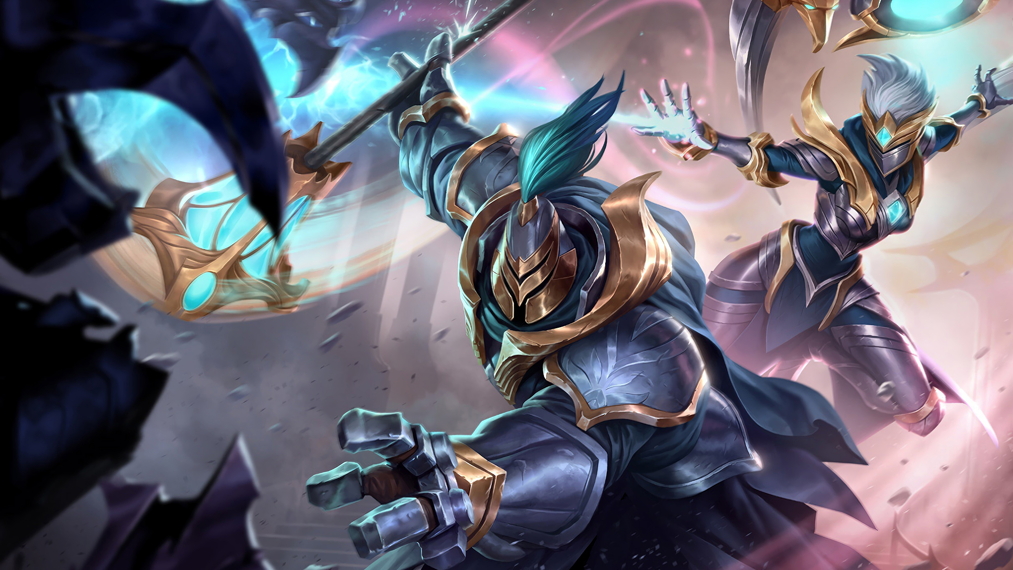 warden jax karma lol splash art league of legends 1574099217 - Warden Jax Karma LoL Splash Art League of Legends - league of legends, karma, Jax