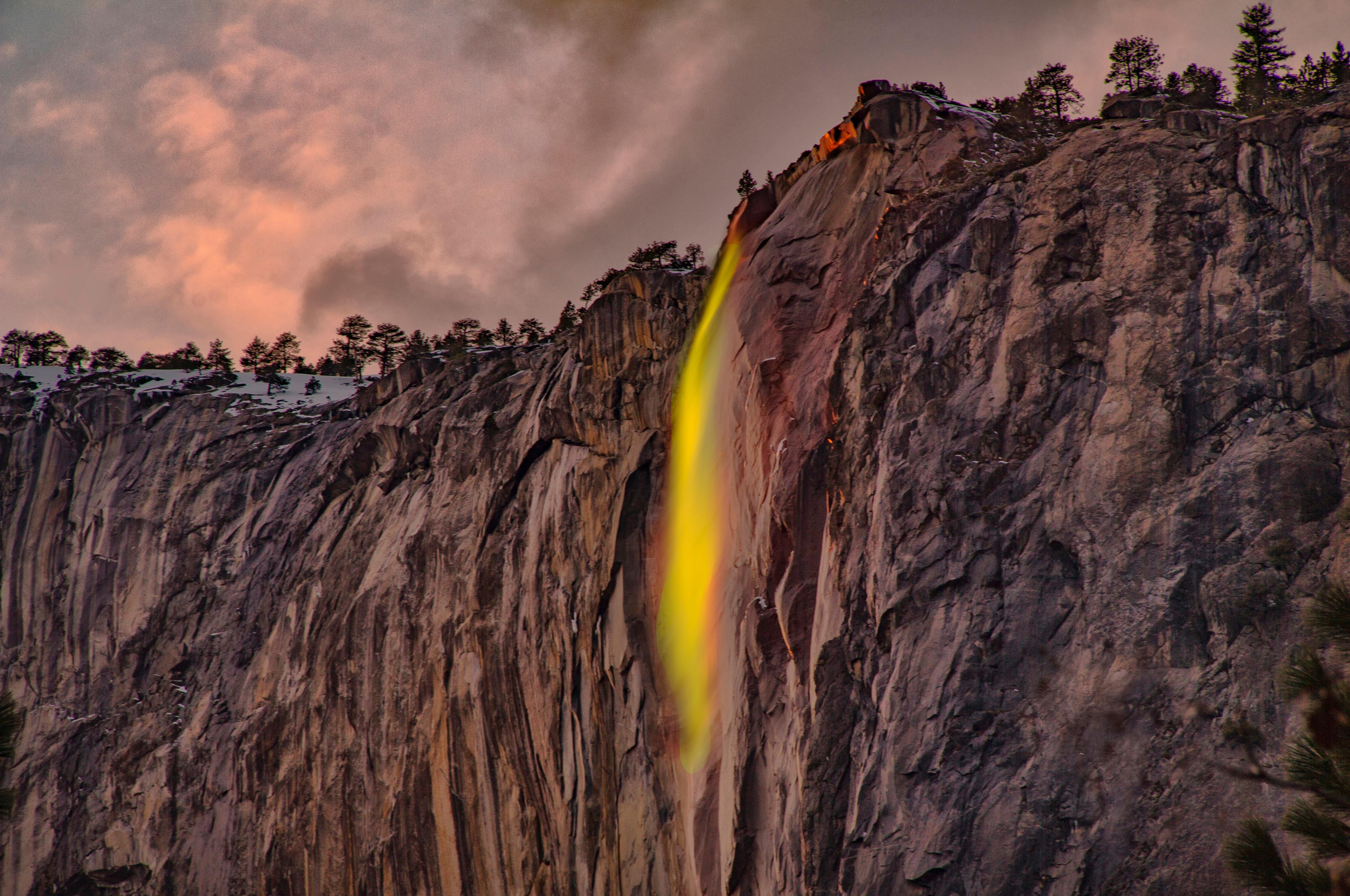 waterfalls under white sky 1574937653 - Waterfalls Under White Sky -