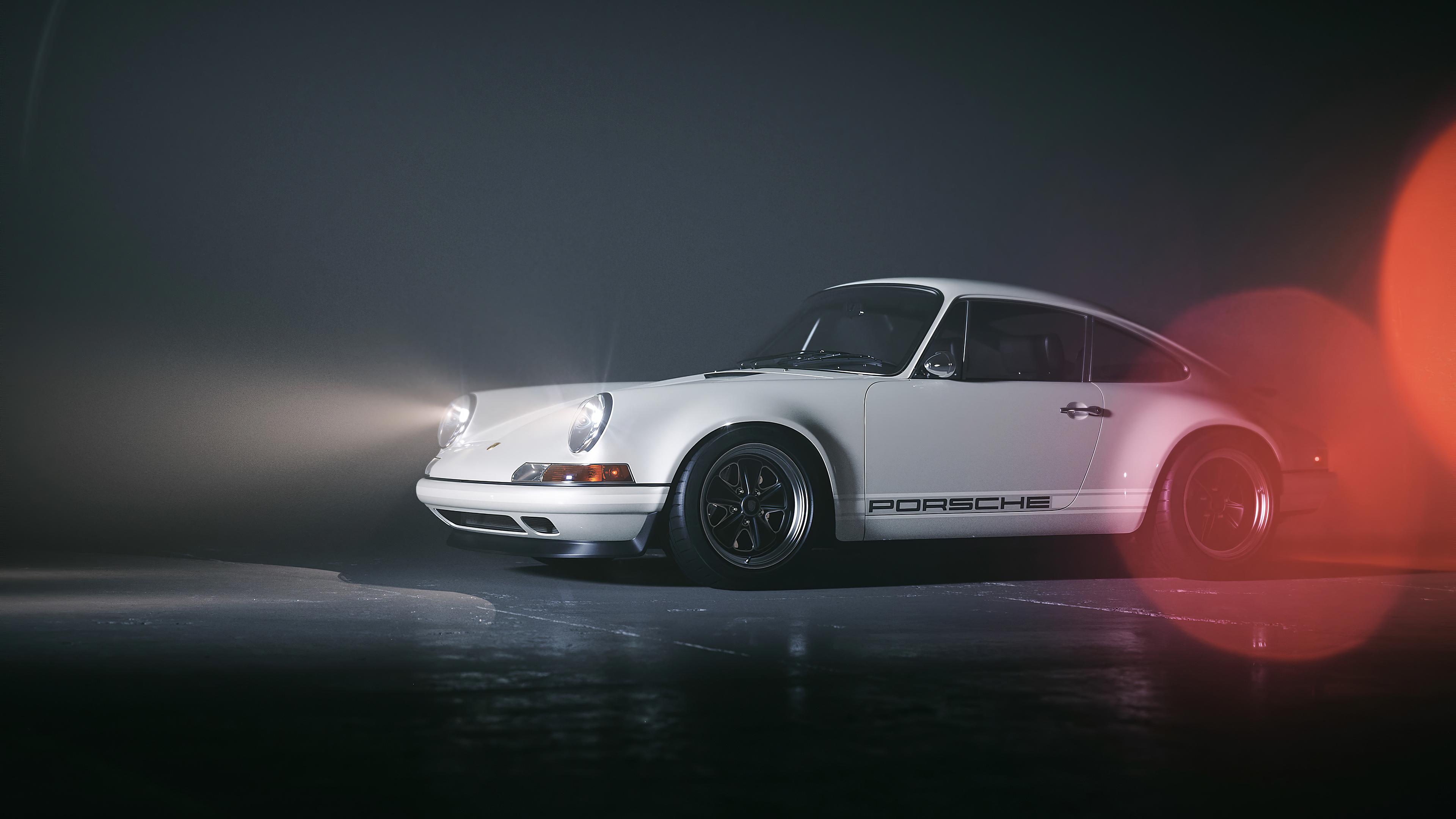 white porsche 1572660907 - White Porsche - porsche wallpapers, hd-wallpapers, cars wallpapers, behance wallpapers, 4k-wallpapers
