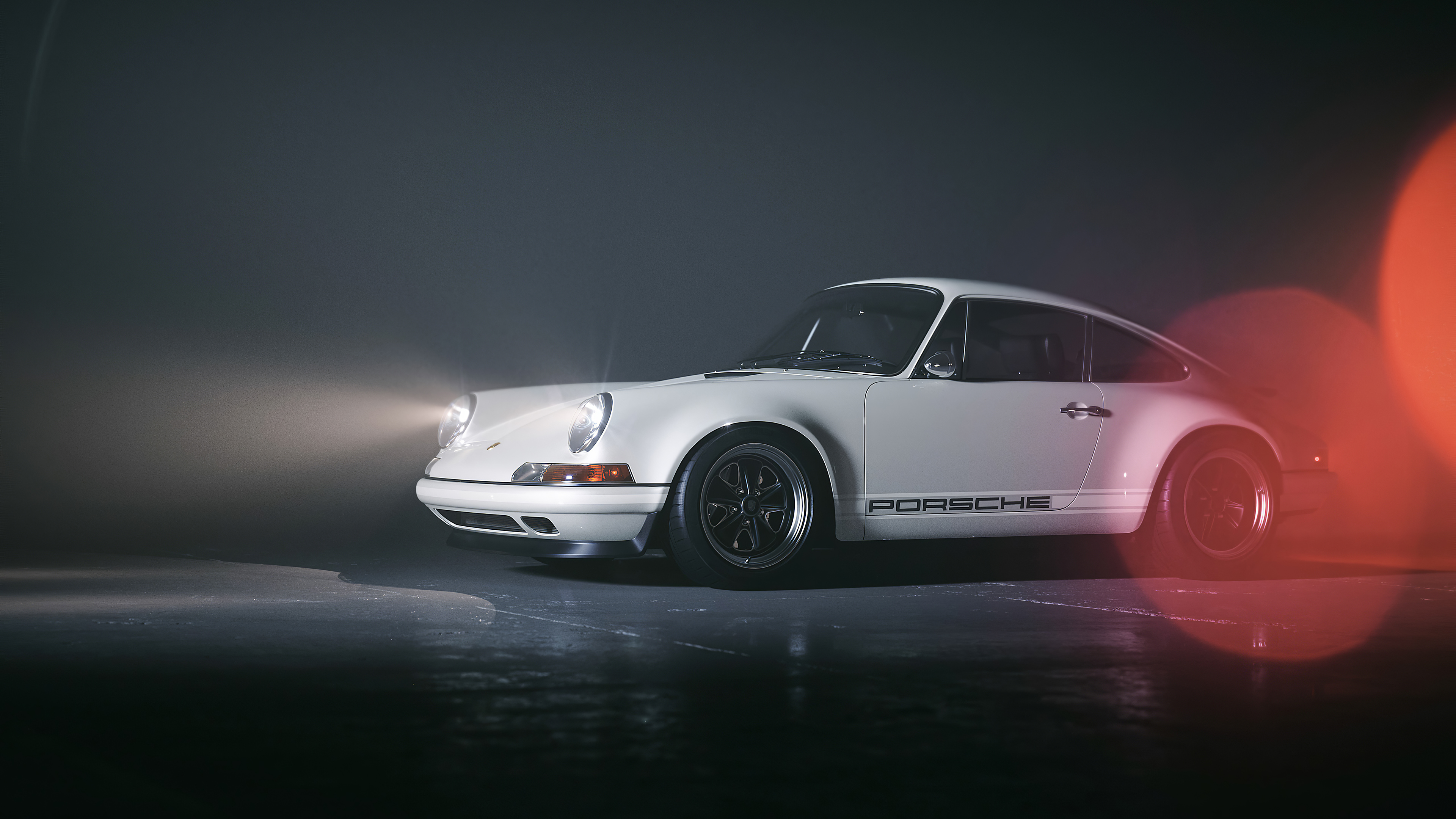 Wallpaper 4k White Porsche 4k Wallpapers Behance Wallpapers