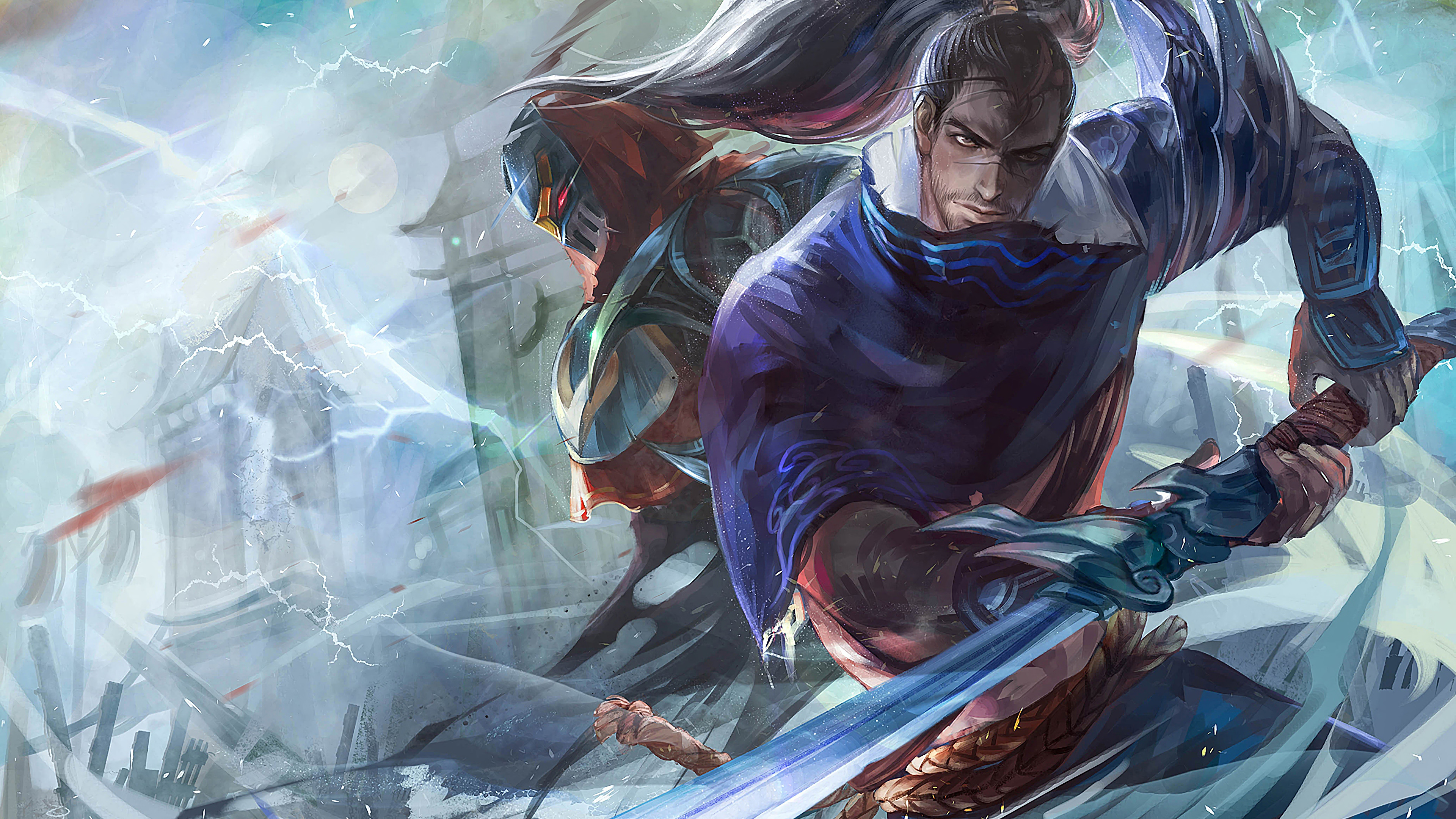 yasuo and zed league of legends 1574095940 - Yasuo And Zed League Of Legends - Zed, Yasuo, league of legends