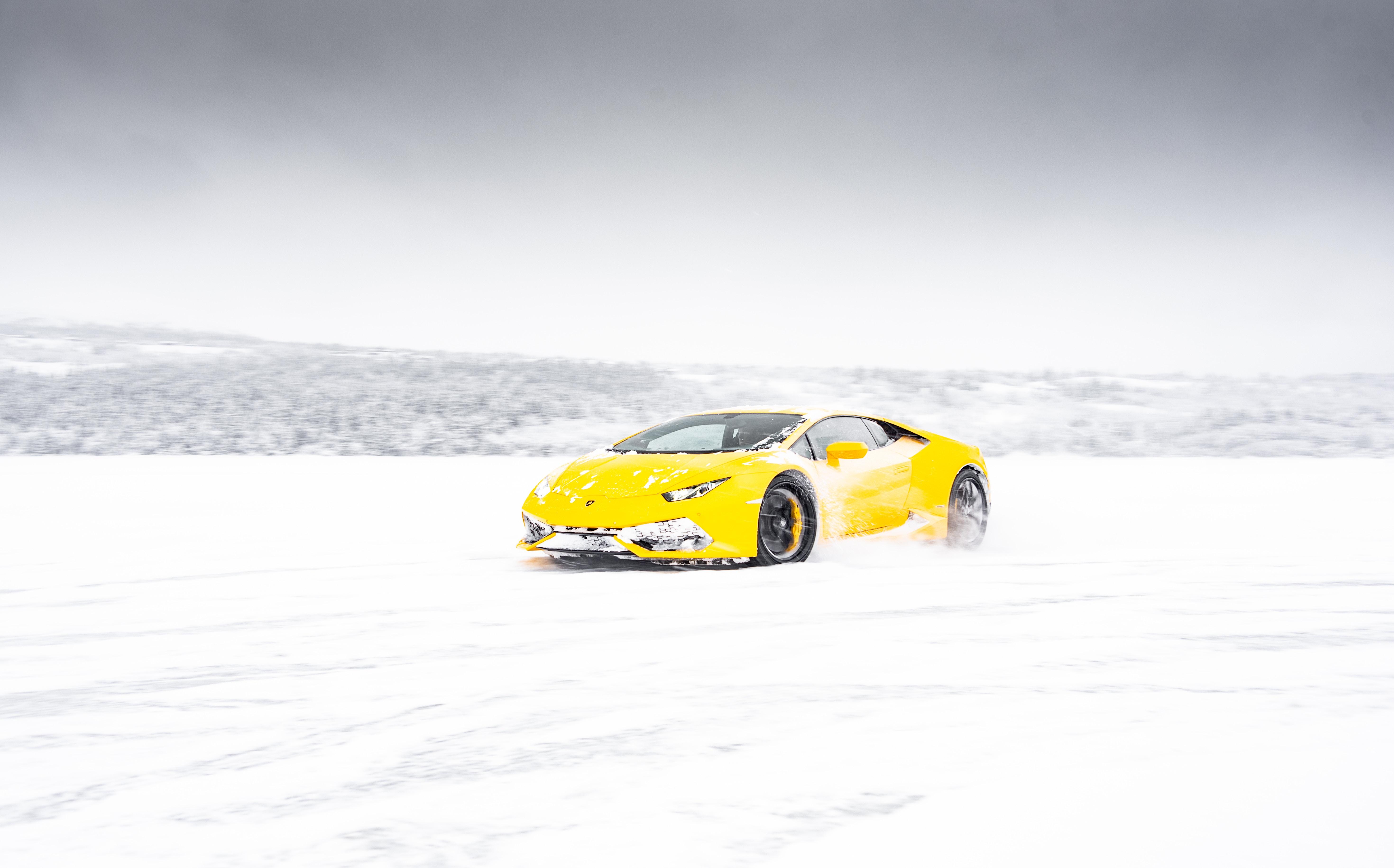 yellow lamborghini aventador in snow 1574939499 - Yellow Lamborghini Aventador In Snow -