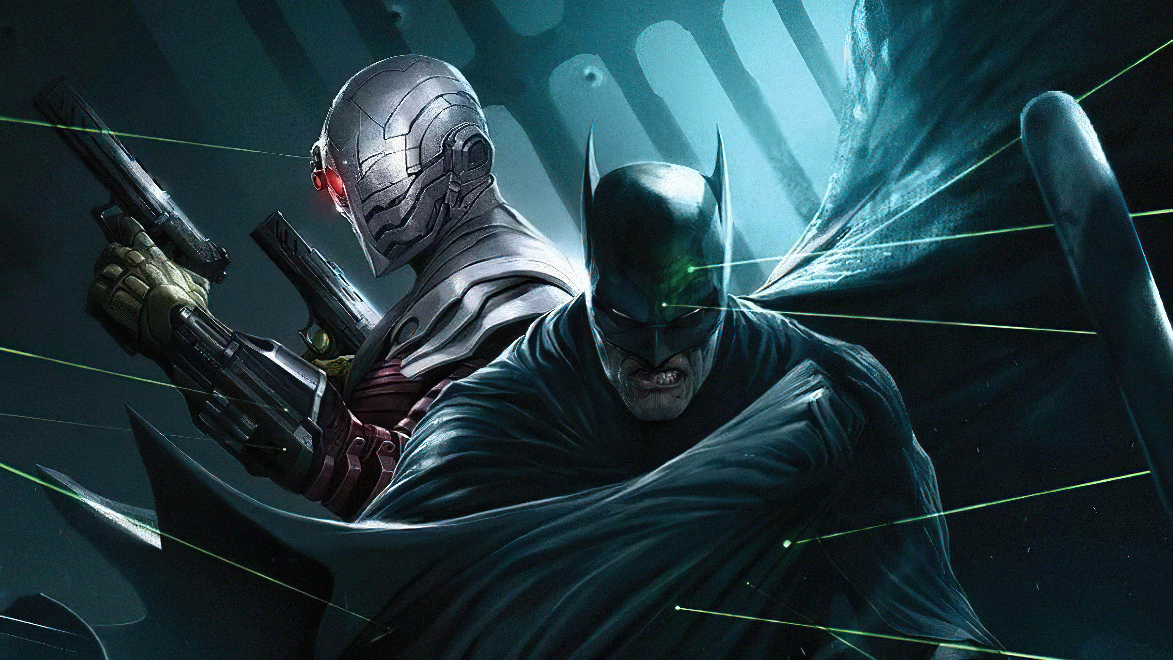 batman and deathstroke 1576091242 - Batman And Deathstroke - Batman Vs DeathStroke wallpaper 4k, 4k Batman Vs DeathStroke wallpaper
