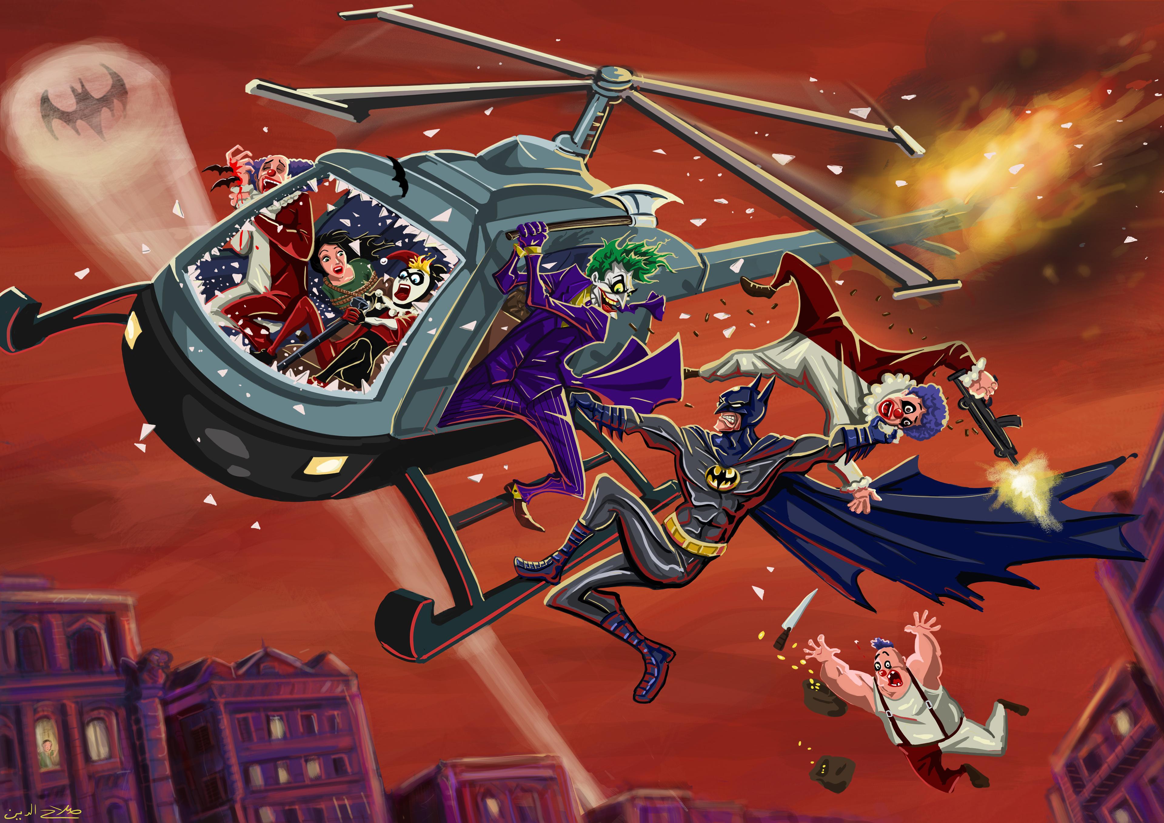 batman vs villians comic art 1576093815 - Batman Vs Villians Comic Art - dark knight wallpaper 4k, batman wallpaper phone hd 4k, batman wallpaper 4k, batman art wallpaper 4k, Batman 4k hd wallpaper
