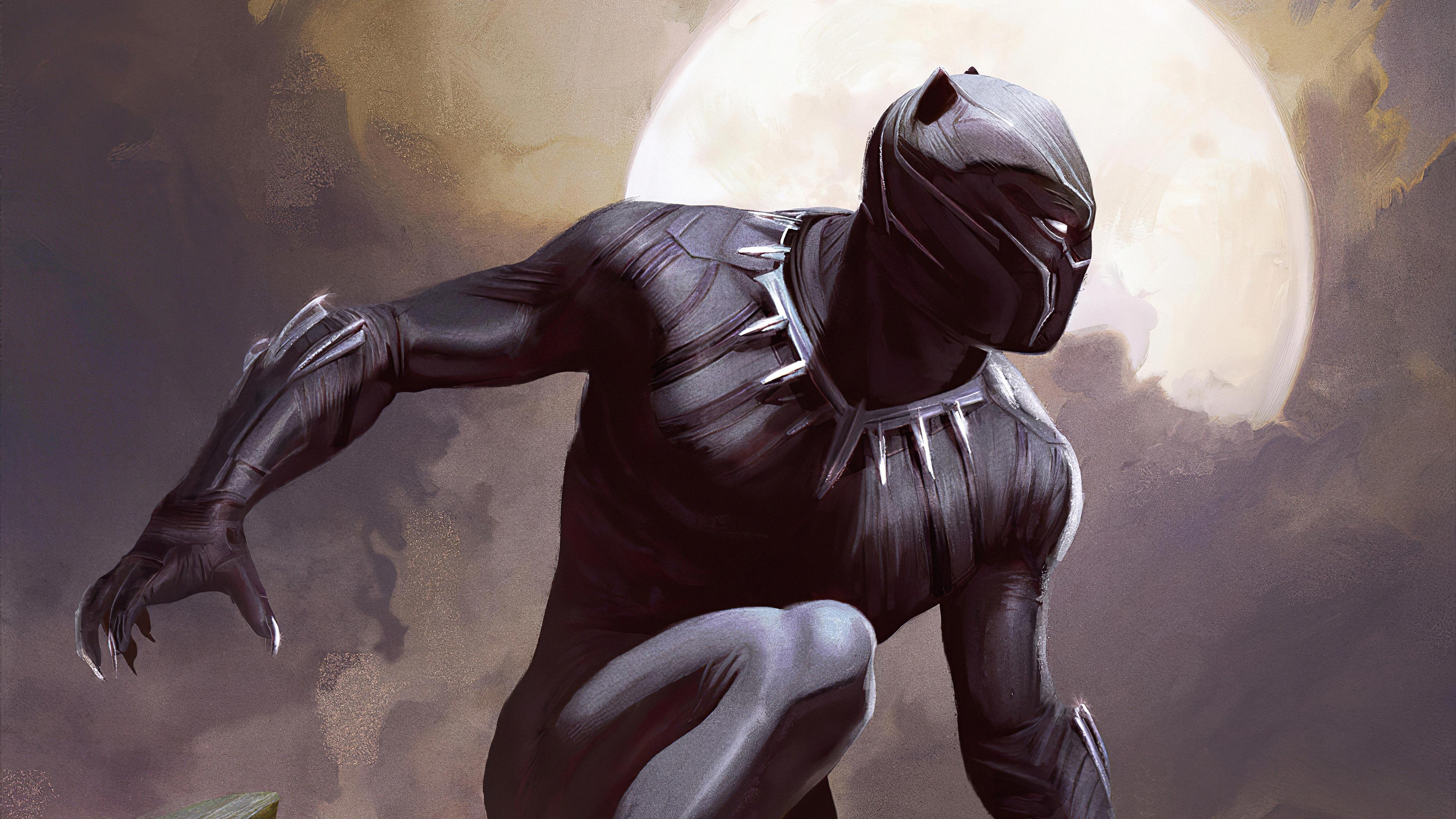 Wallpaper 4k Black Panther Artwork Black Panther 4k Wallpaper Black Panther Art Wallpaper Hd 4k Black Panther Ultra Hd Wallpaper 4k Black Panther Wallpaper
