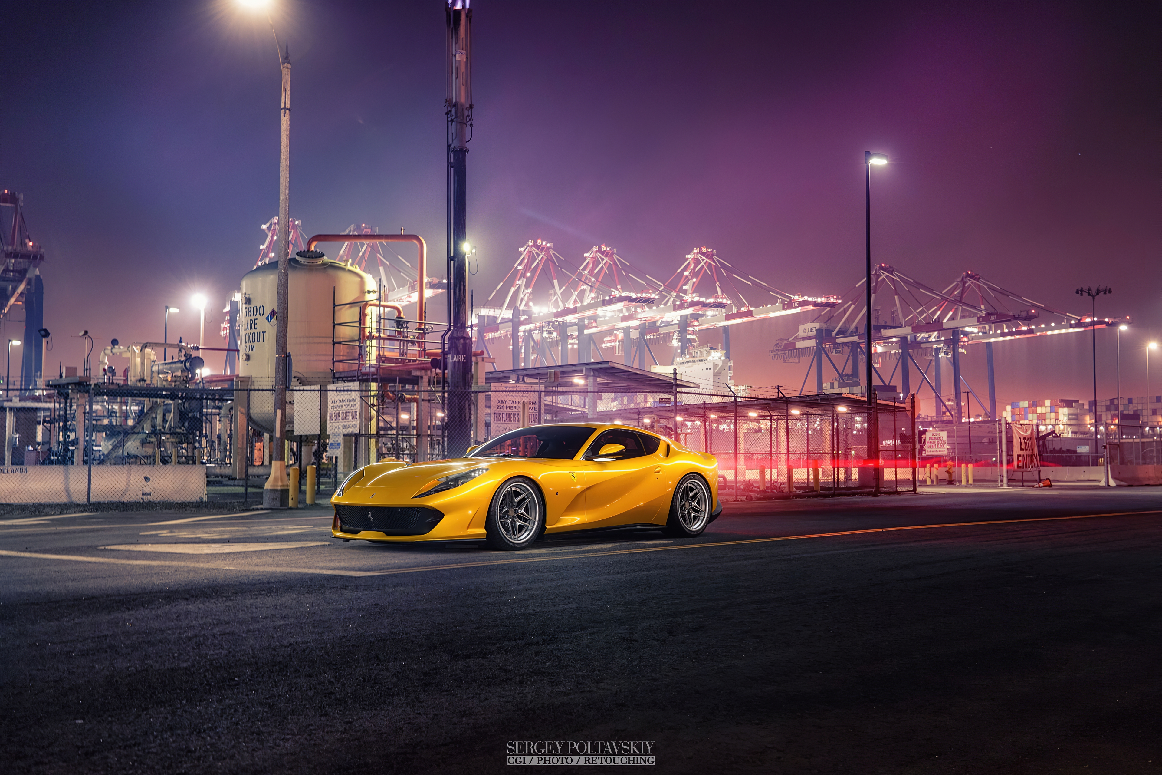 ferrari yellow art 1577653833 - Ferrari Yellow Art - Ferrari Yellow Art 4k wallpaper