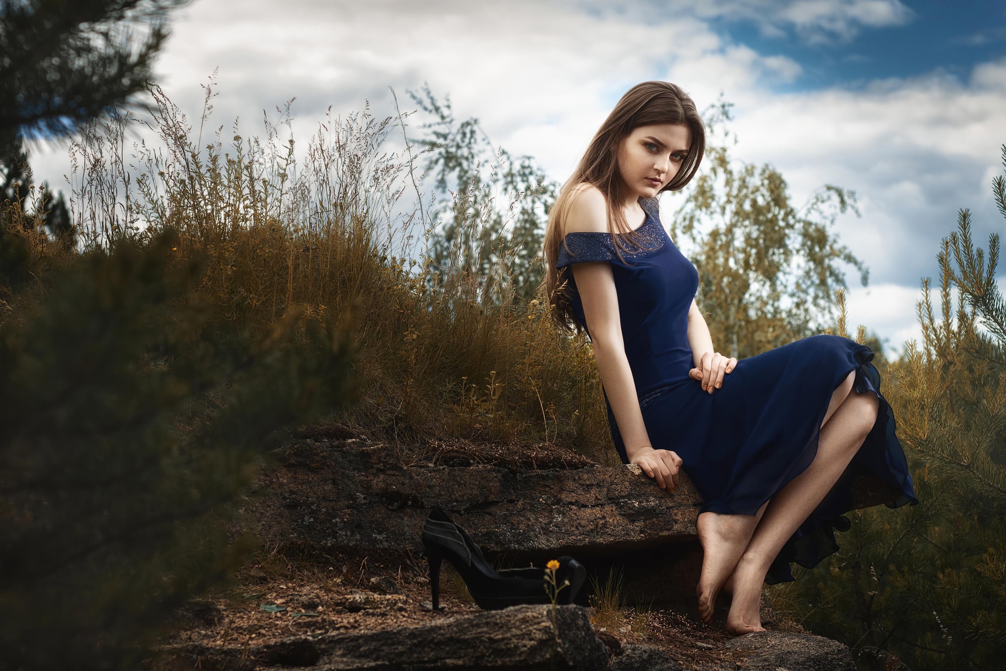 girl in blue dress nature 1575666209 - Girl In Blue Dress Nature -