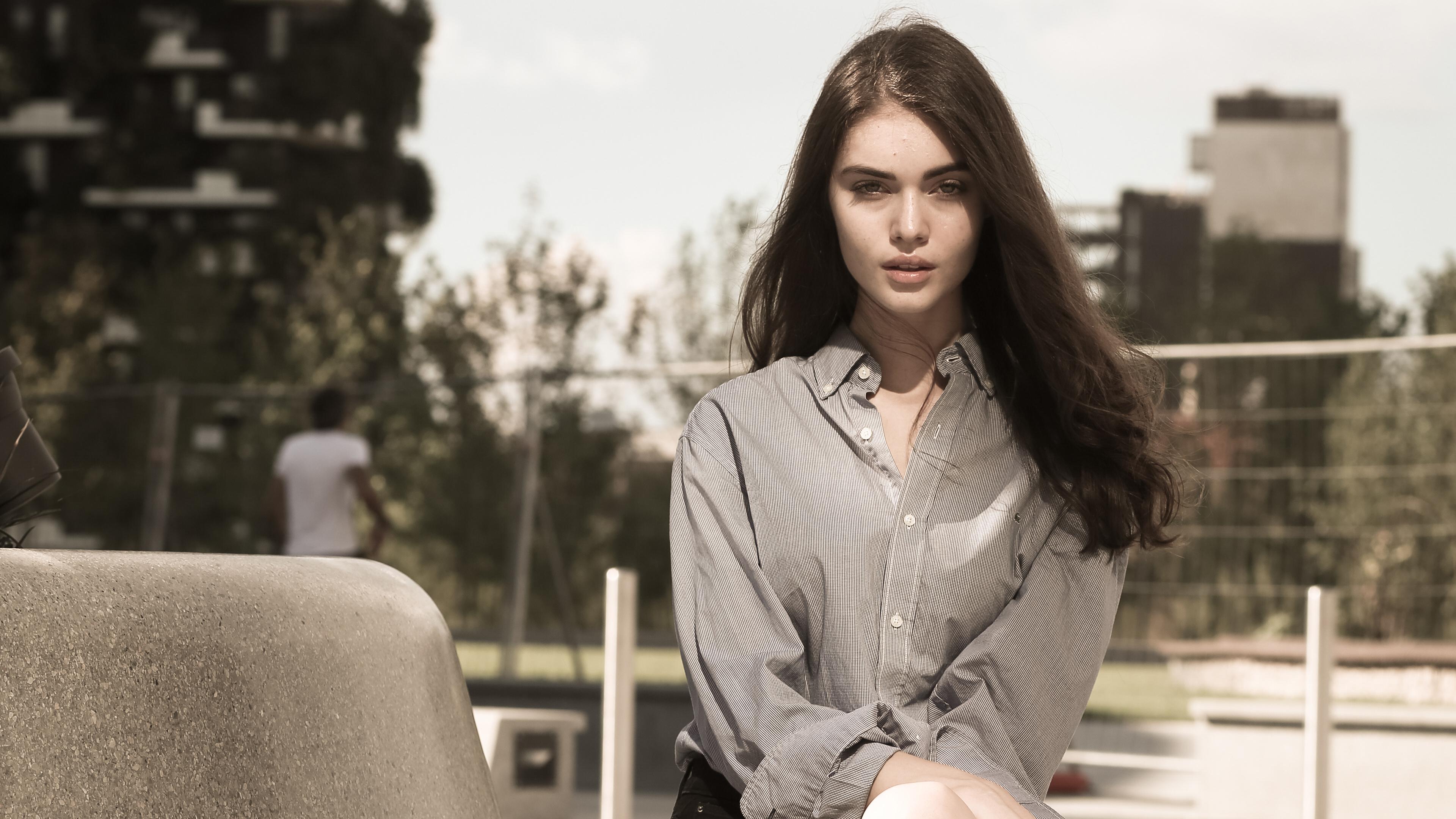 girl sitting outside portrait 1575664954 - Girl Sitting Outside Portrait -