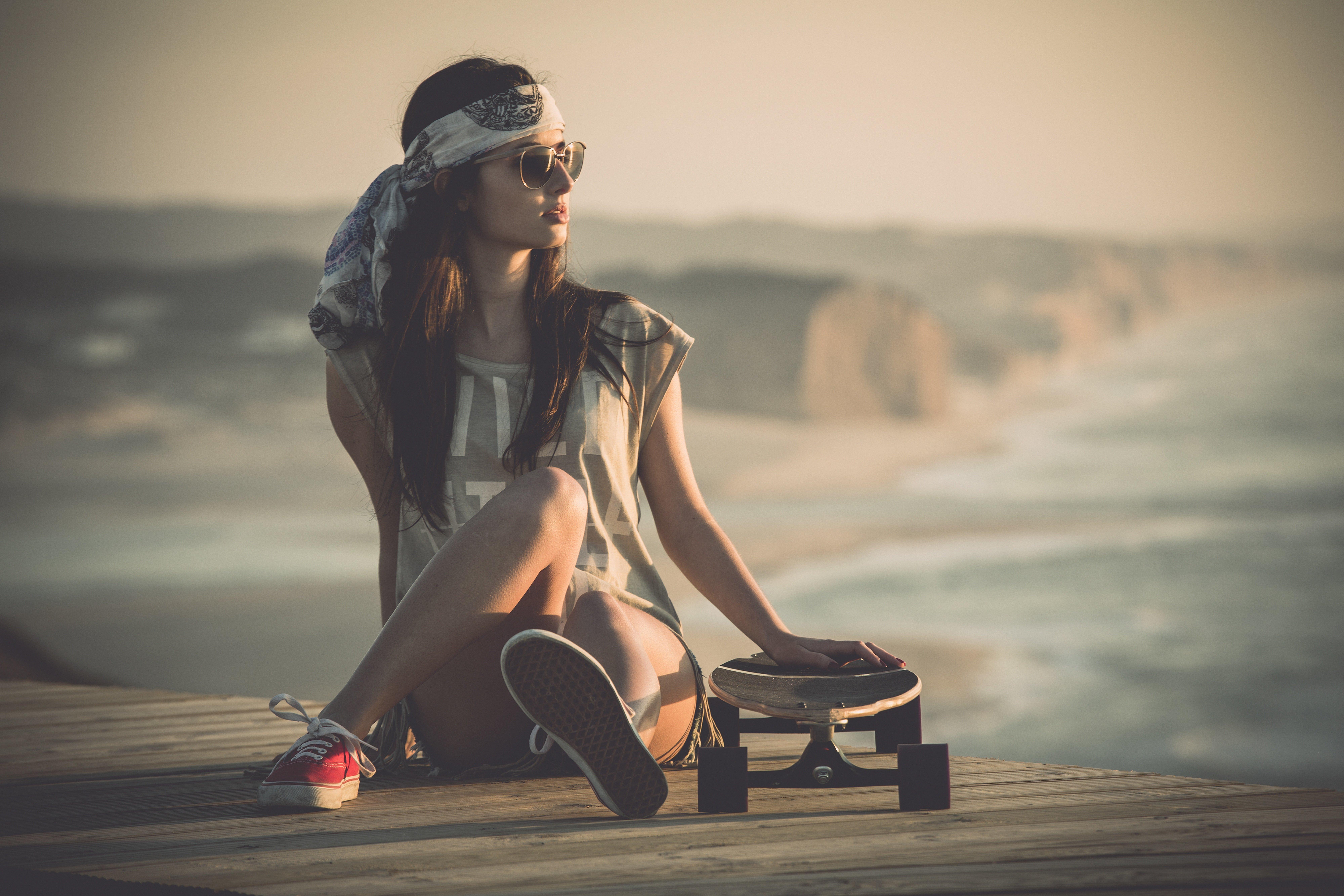 girl with skateboard 1575664751 - Girl With Skateboard -