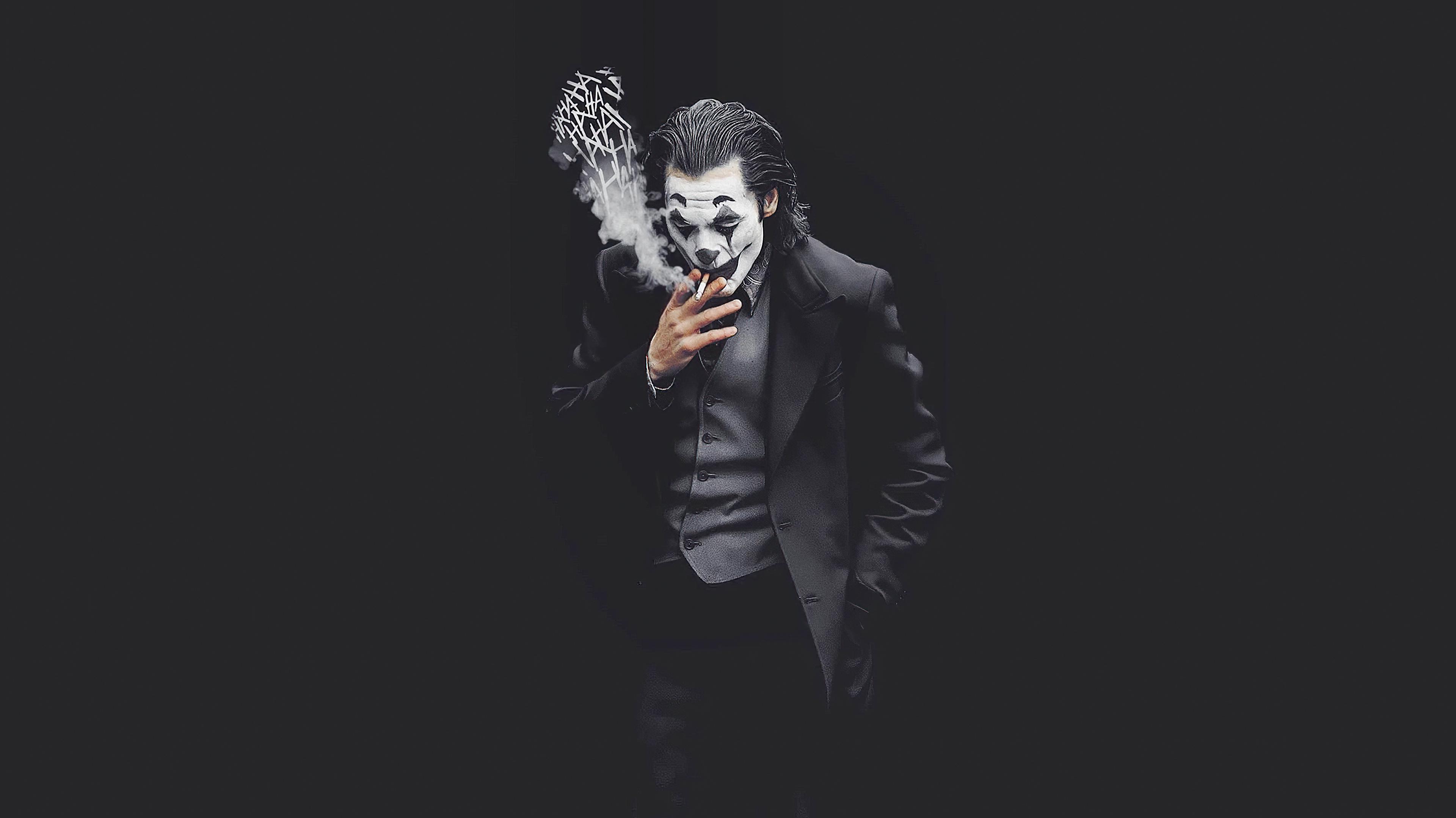 joker smoking monochrome 1576085445 - Joker Smoking Monochrome - Joker Smoking wallpaper hd 4k