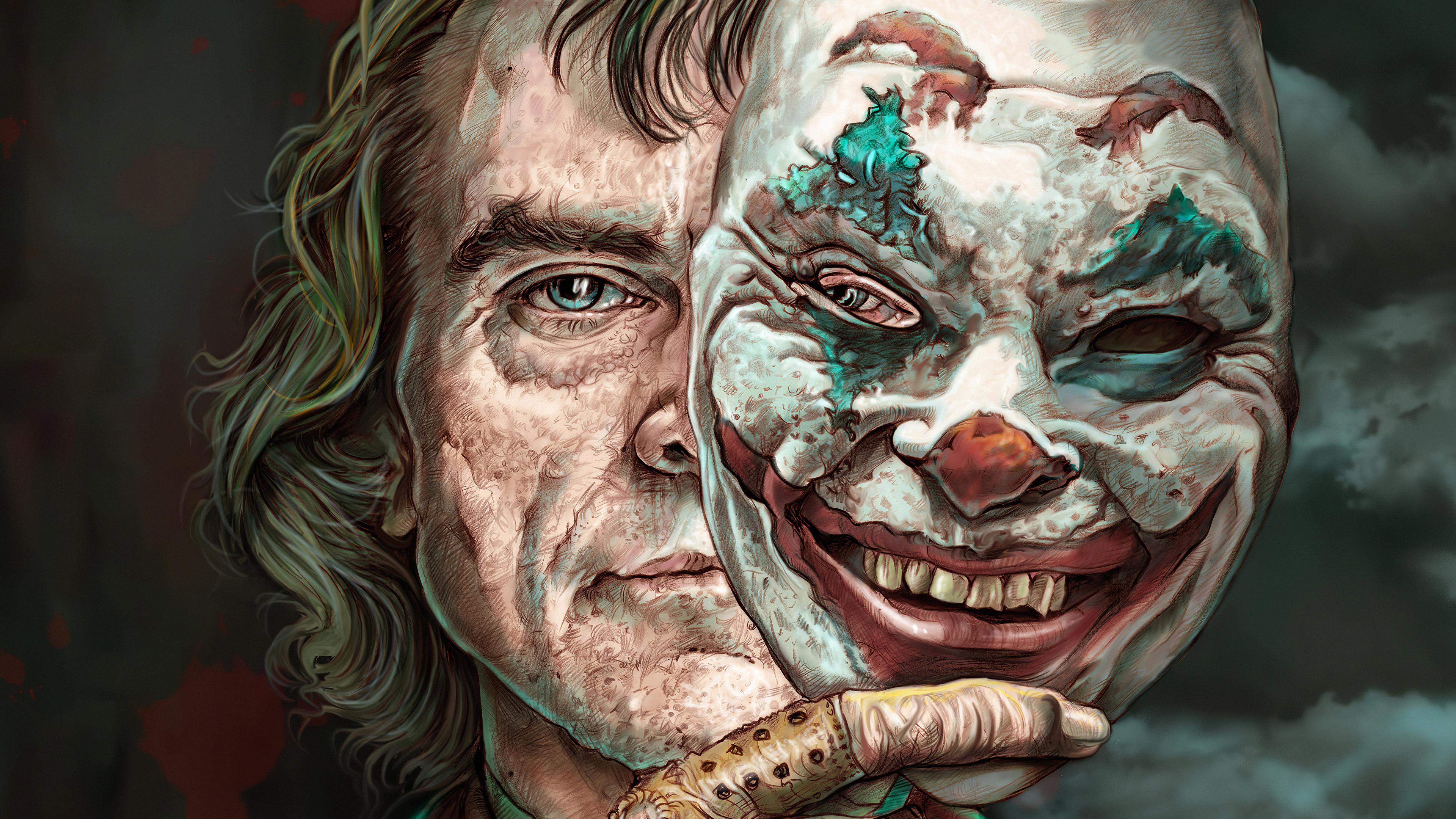 joker the mask 1576090680 - Joker the mask - Joker wallpaper hd 4k, Joker art wallpaper 4k