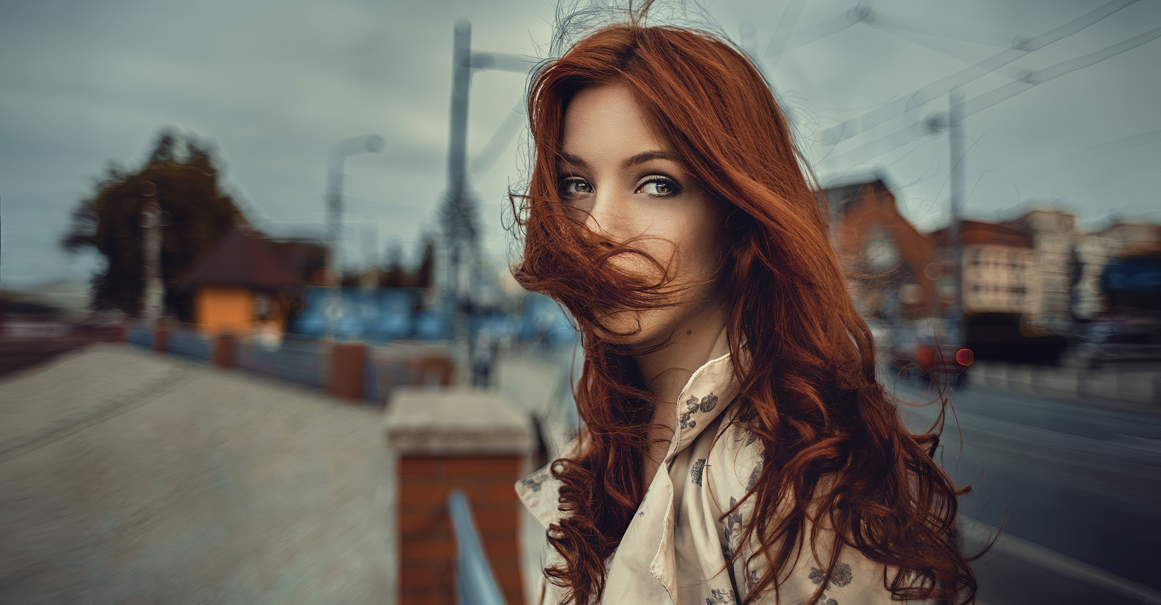red hair in face wind blowing 1575666213 - Red Hair In Face Wind Blowing -