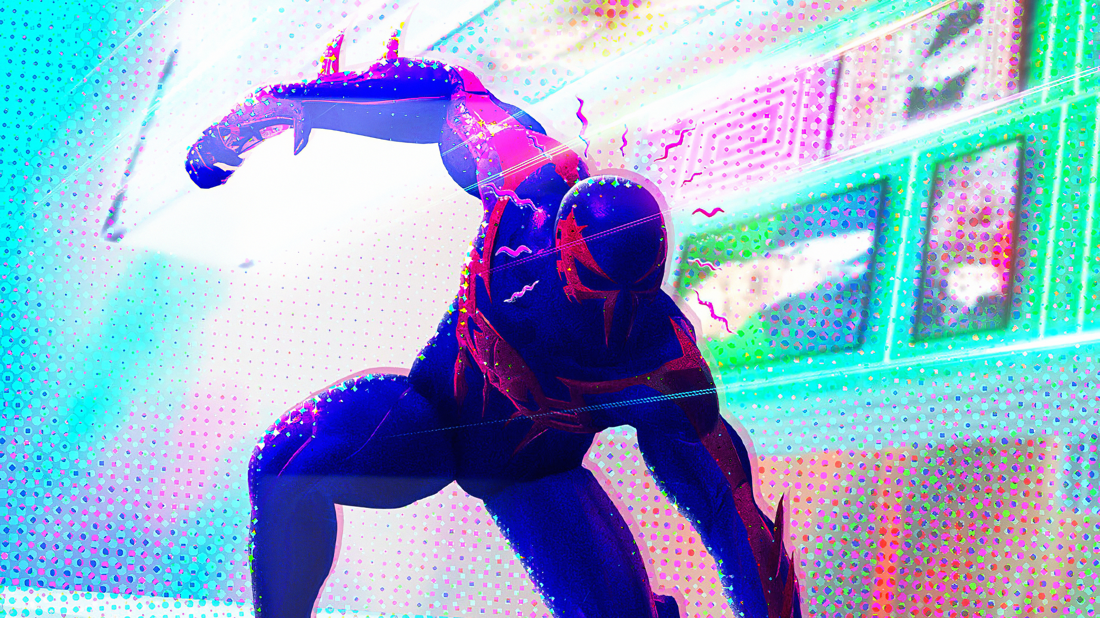 Wallpaper 4k Spiderman 2099 Spider Verse 2 Art Spiderman 2099 4k