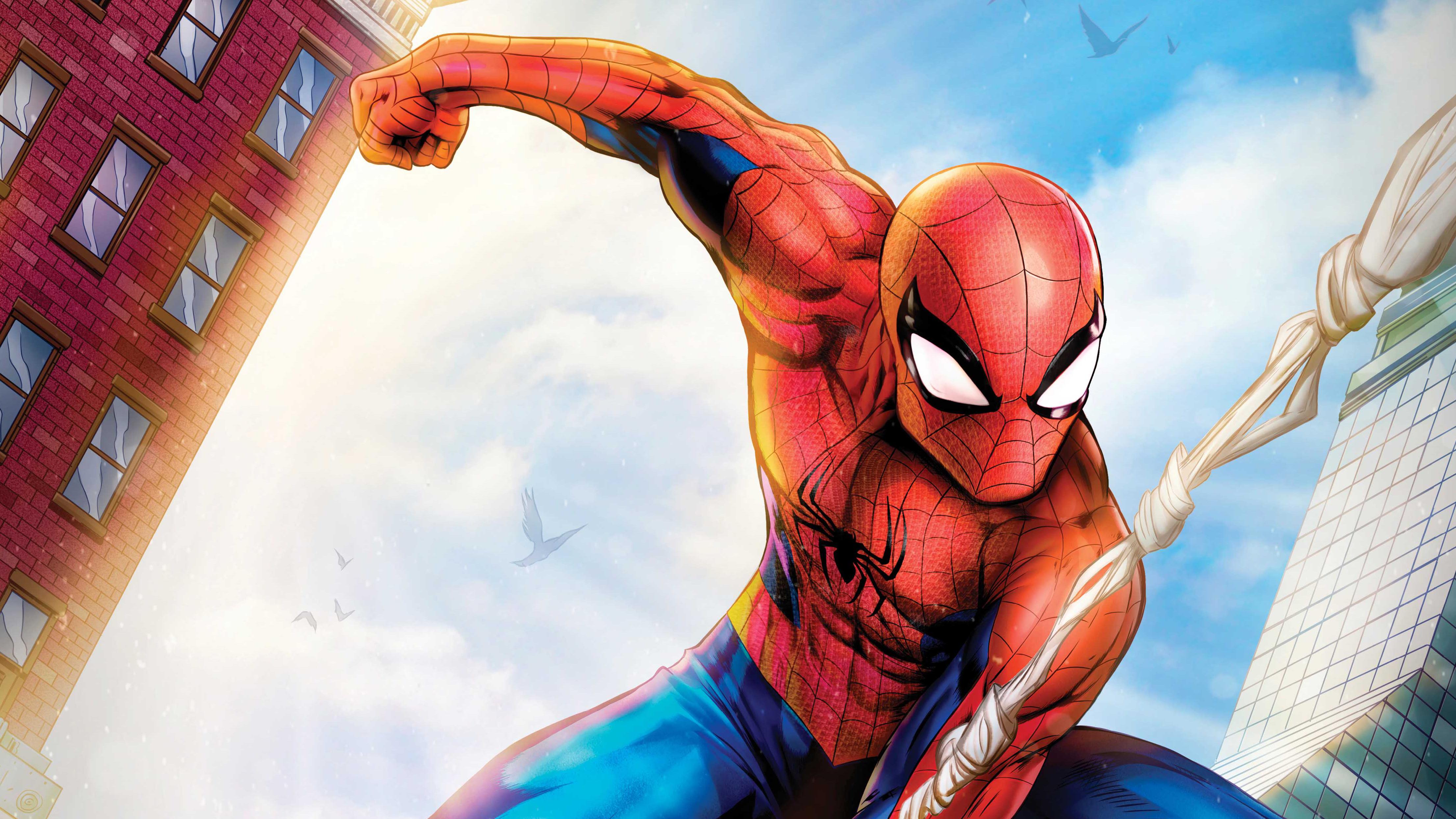 Wallpaper 4k Spiderman Comic Artwork Spiderman 4k Wallpaper