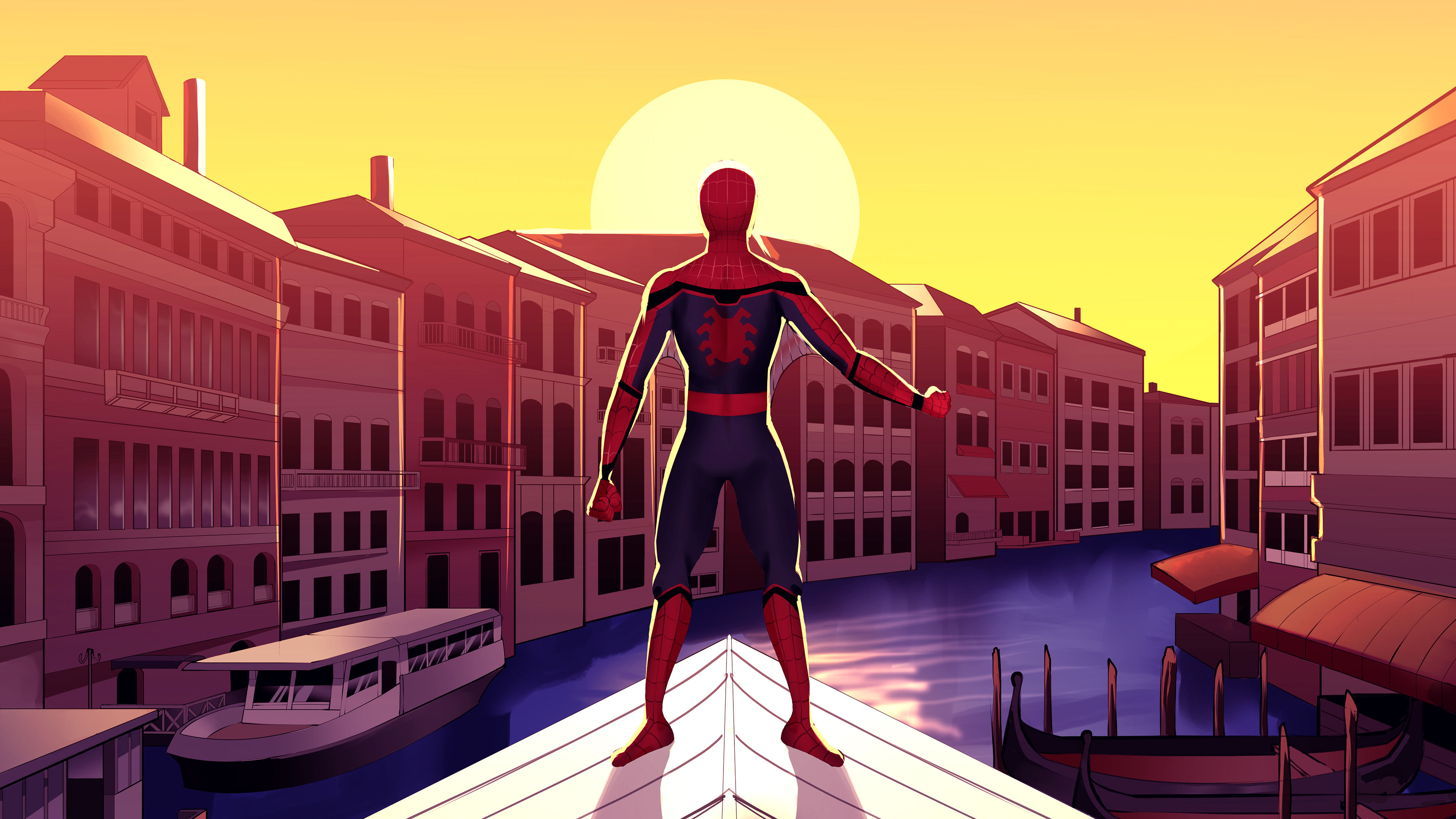 spiderman in venice 1576090196 - Spiderman In Venice - Spiderman In Venice 4k wallpaper