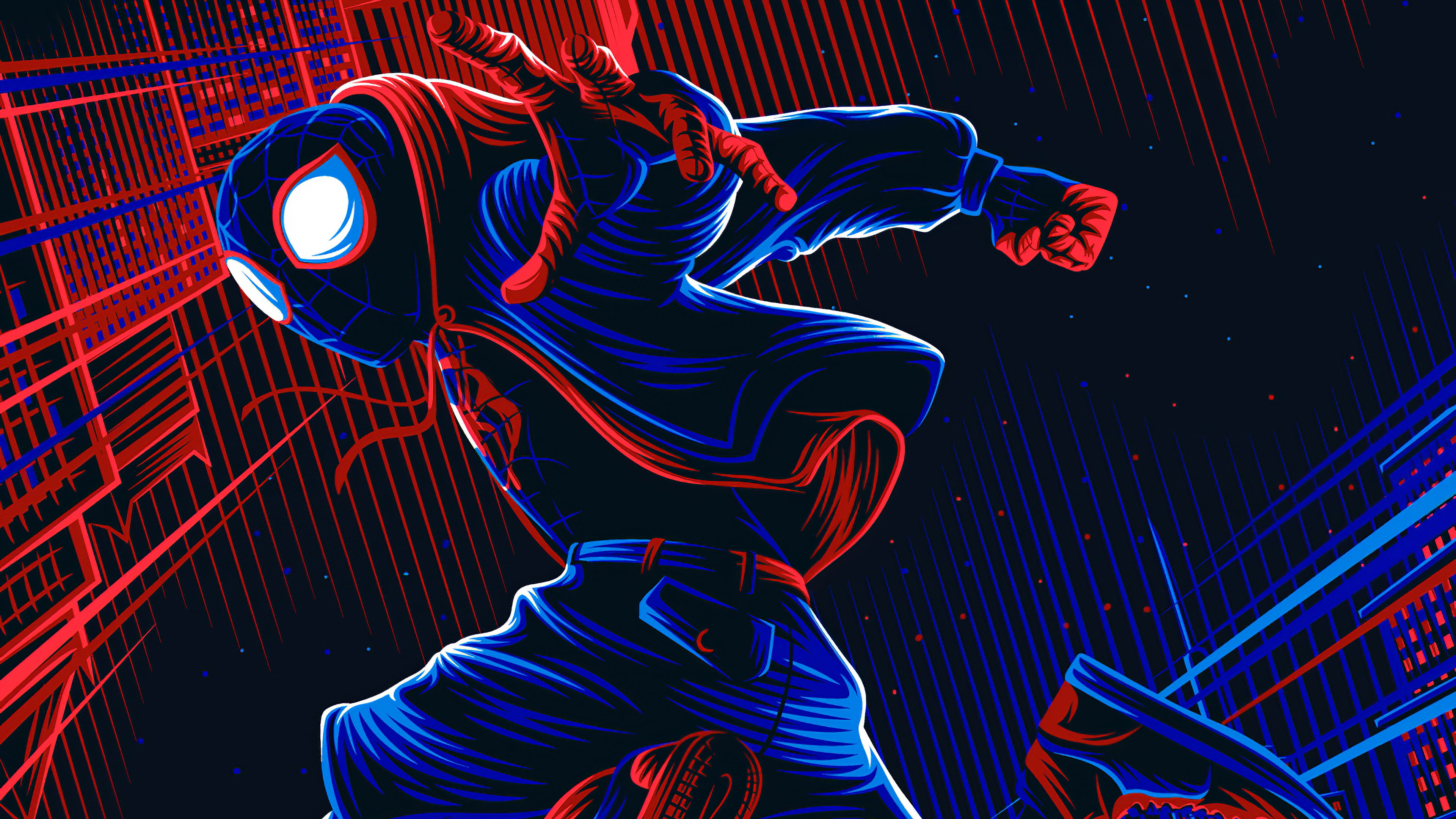 spiderman miles artwork 1576098018 - Spiderman Miles Artwork - spider man wallpaper phone hd, Spider man wallpaper 4k hd, spider man art wallpaper hd 4k, spider man 4k wallpaper