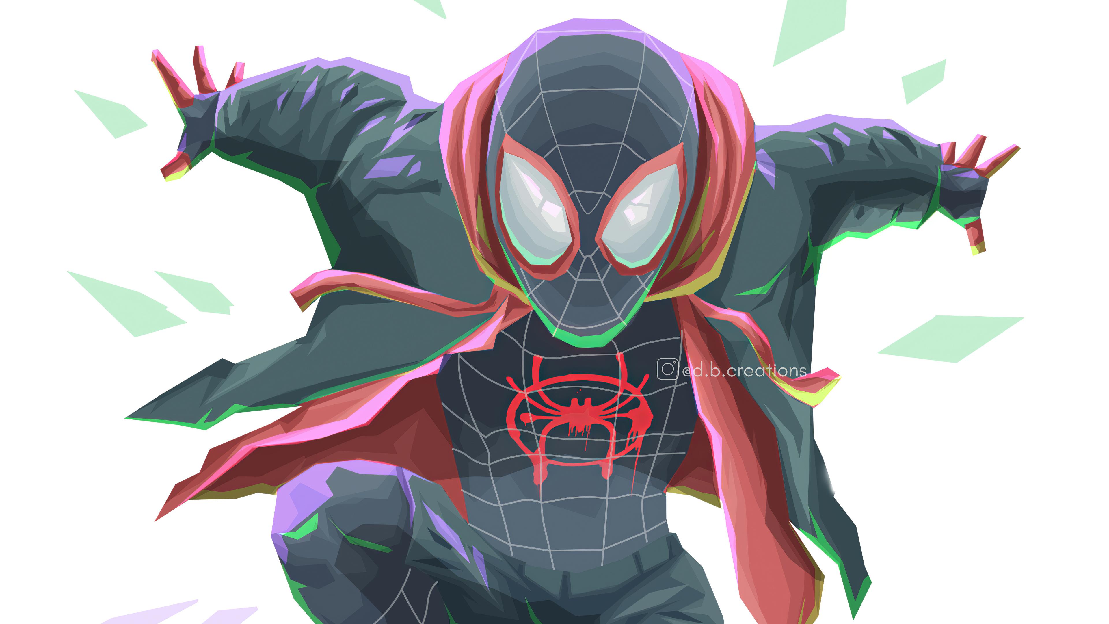 spiderverse miles morales art 1576091861 - Spiderverse Miles Morales Art - Spiderverse Miles Morales wallpaper 4k, 4k Spiderverse Miles Morales wallpaper phone 4k