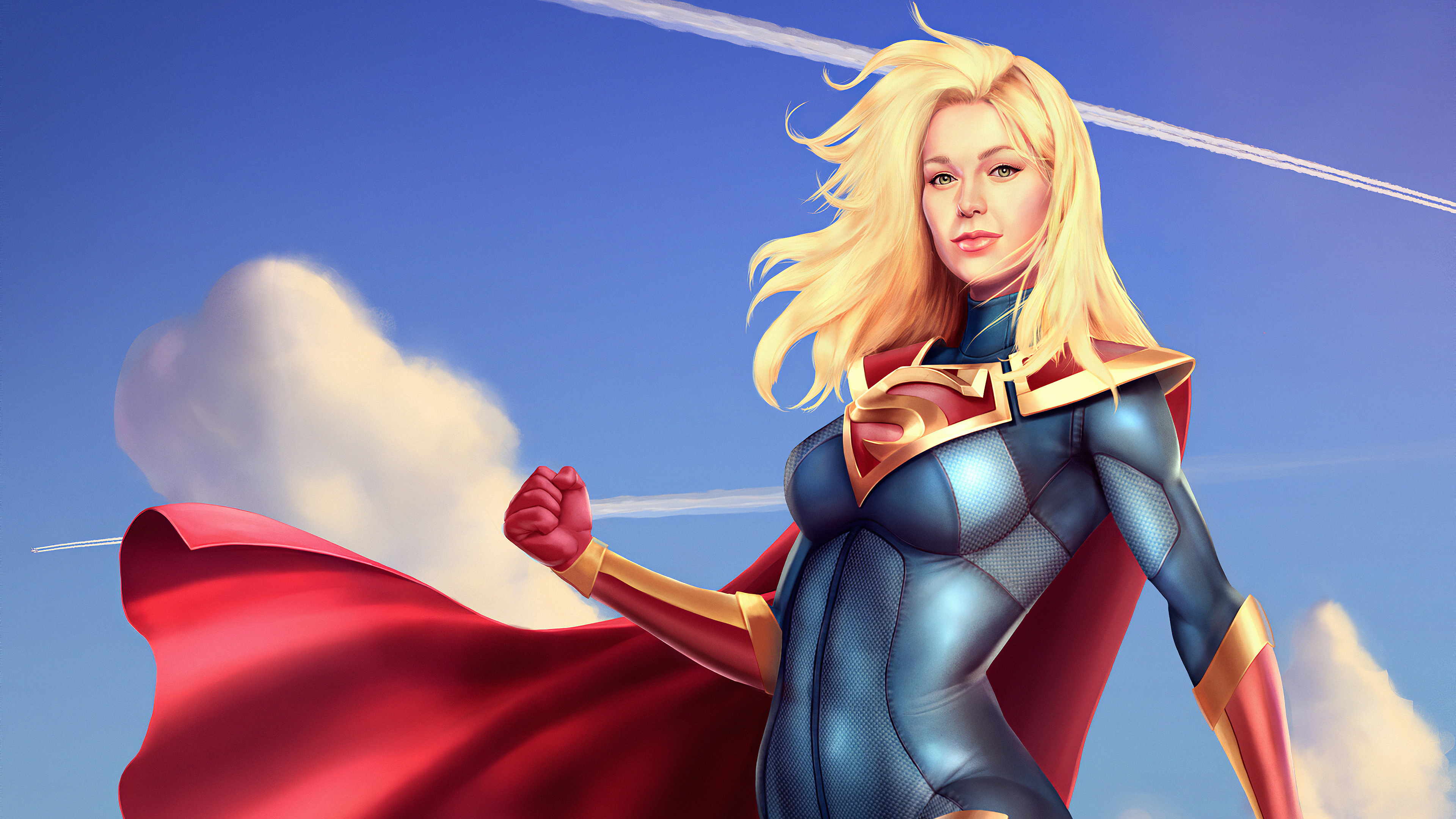 supergirl fanart 1576097597 - Supergirl FanArt - Supergirl Fan art 4k wallpaper, super girl 4k wallpaper