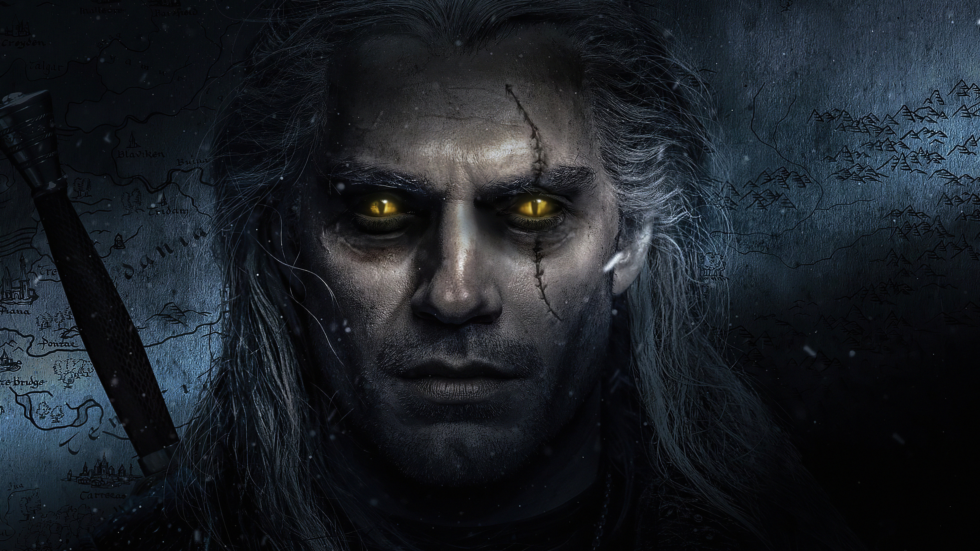 the witcher henry cavill 4k tv series 73 3840x2160 1 - The Witcher Henry Cavill Art - The Witcher wallpaper hd 4k, The Witcher Henry wallpaper 4k, The Witcher 4k wallpaper