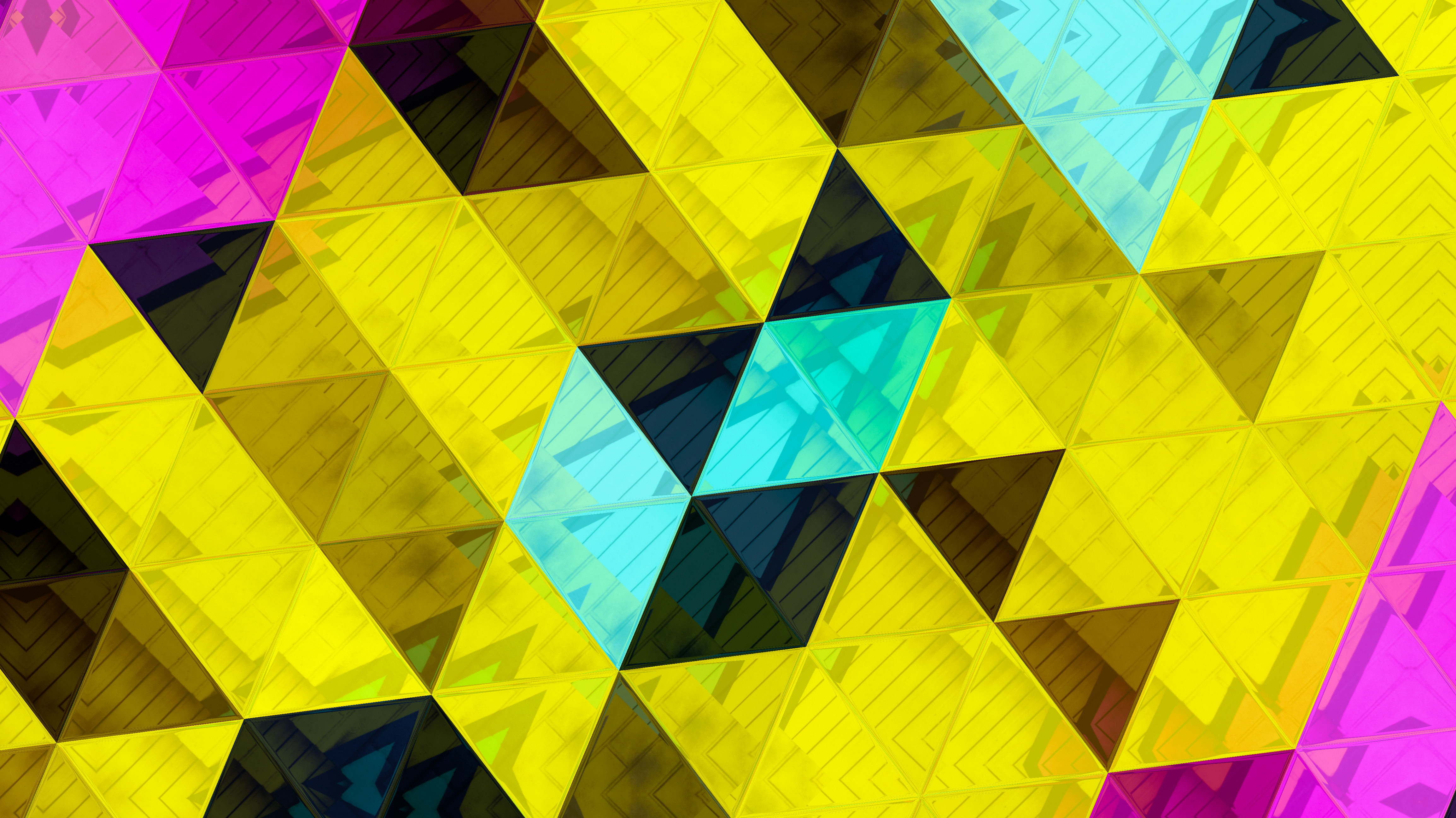 triangles abstract 1575660286 - Triangles Abstract -