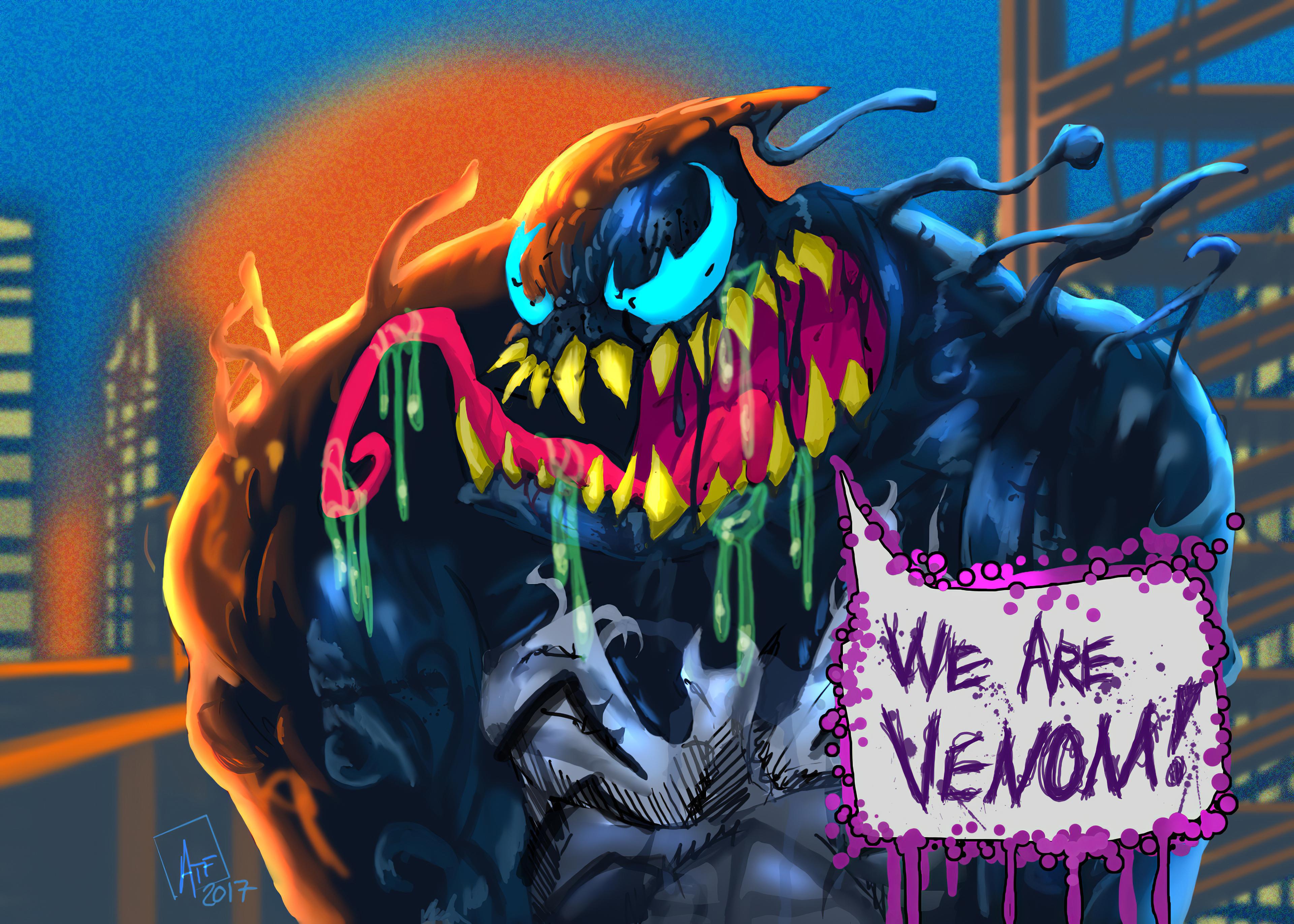 venom fullcolor art 1576092665 - Venom FullColor Art - venom wallpaper phone hd 4k, Venom wallpaper 4k hd, venom wallapper hd 4k, 4k wallpaper venom