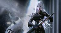 white hair black dress warrior 1575661745 200x110 - White Hair Black Dress Warrior -