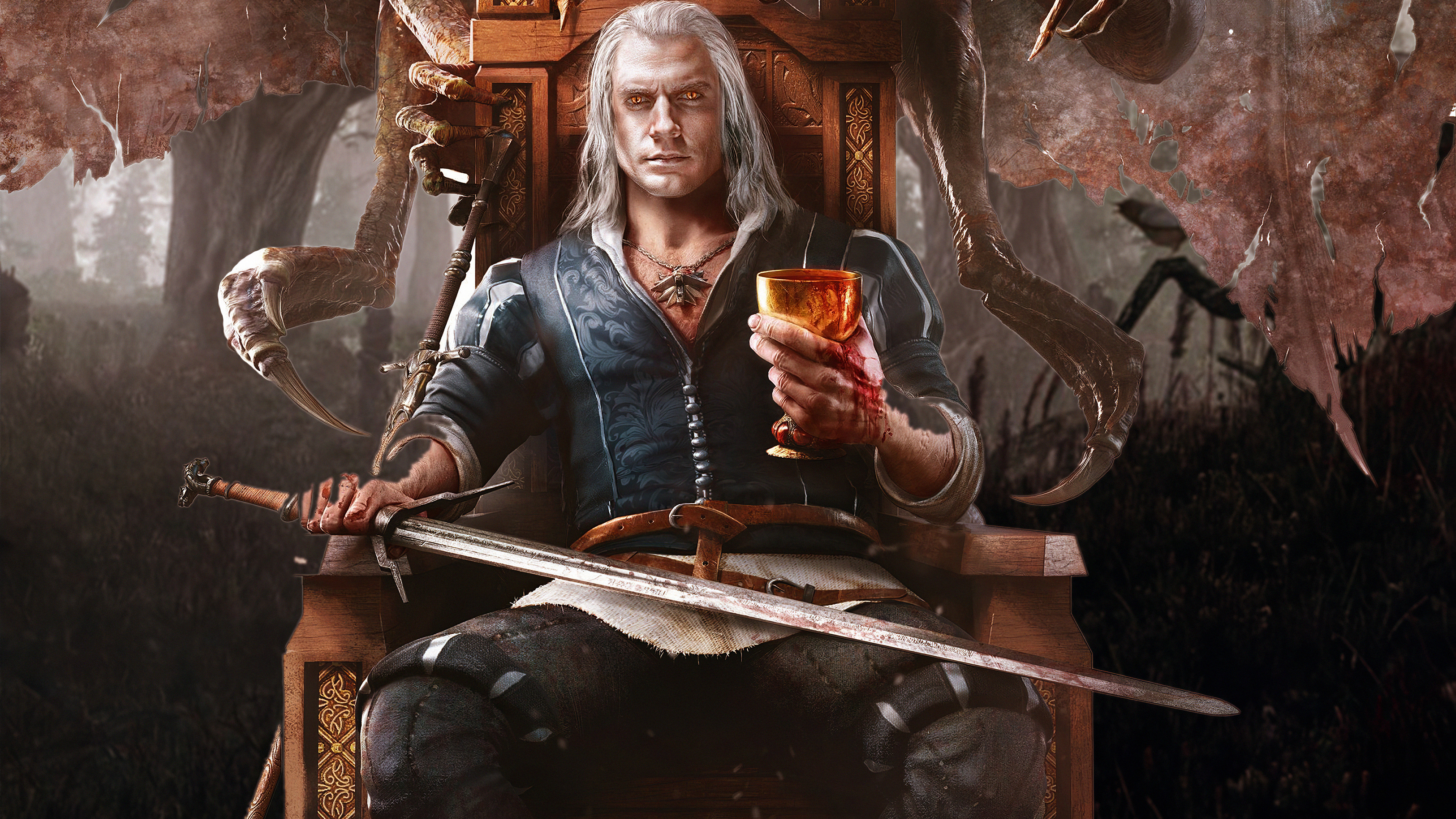 wicther henry art 1576972298 - Wicther Henry Art - The Witcher hd wallpaper, The Witcher background hd 4k, The Witcher 4k wallpaper