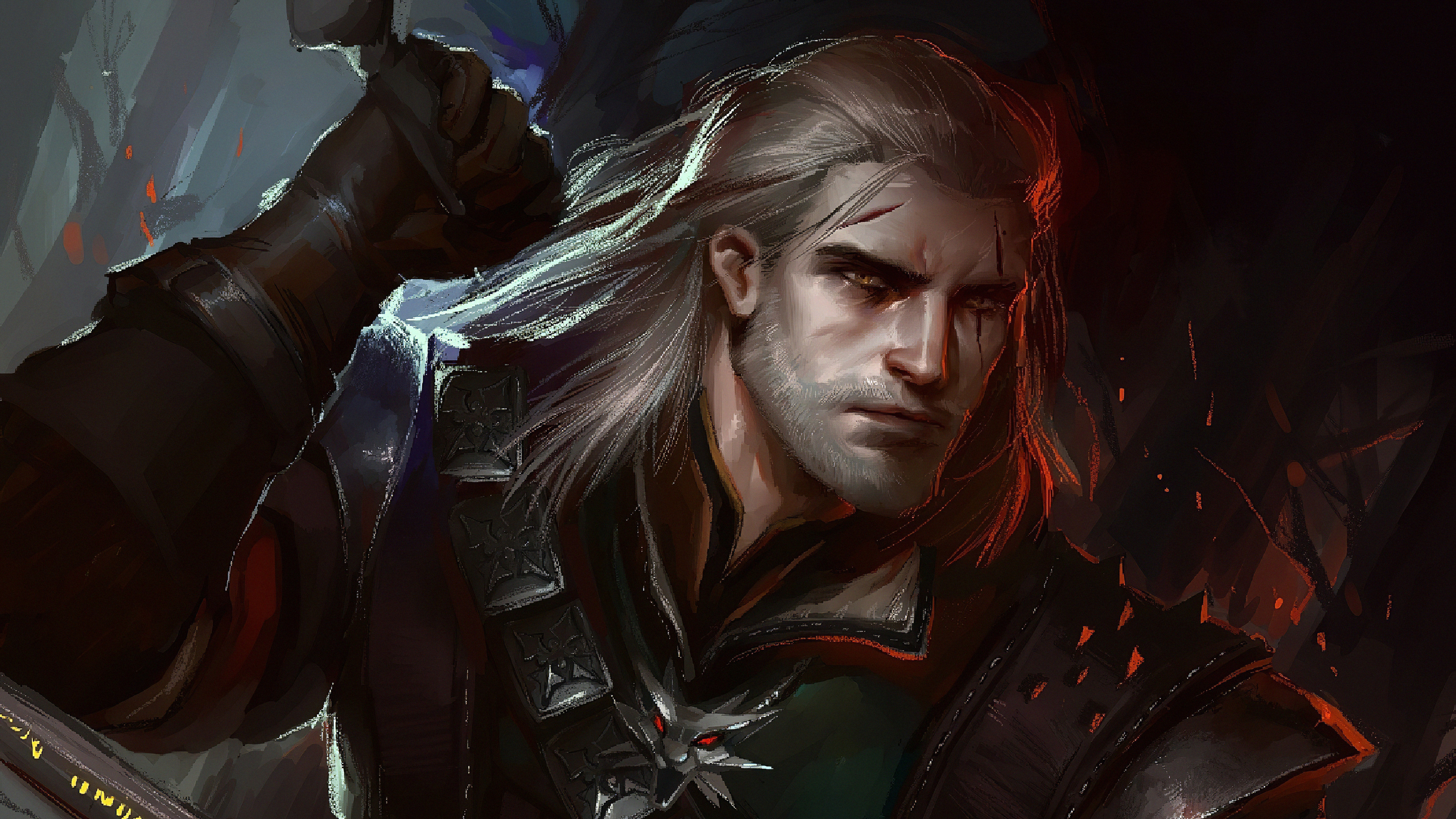 witcherart 3840x2160 1 - Witcher art -