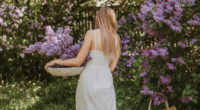 women in white dress collecting flowers 1575666050 200x110 - Women In White Dress Collecting Flowers -