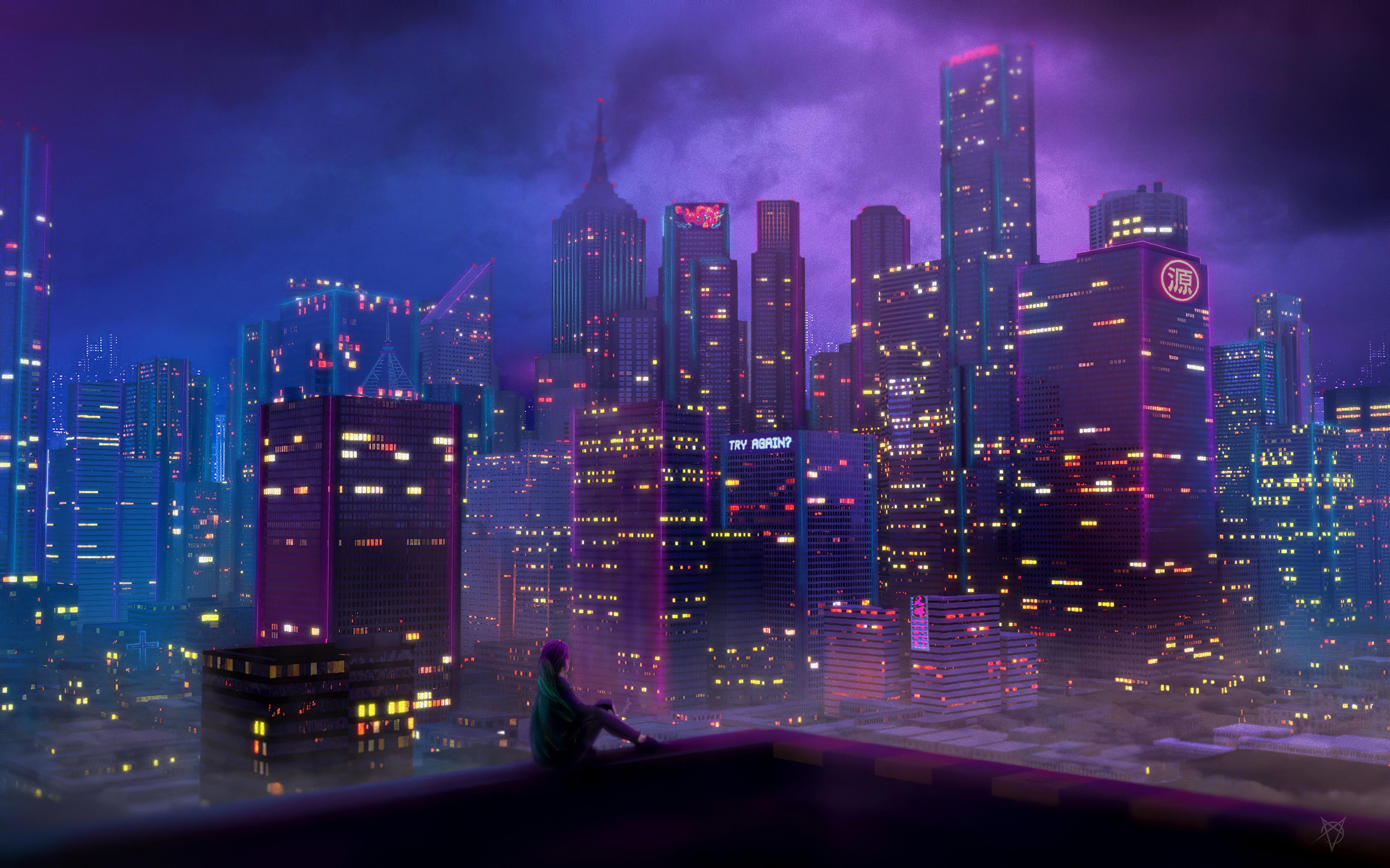 anime city girl 1578254395 - Anime City Girl -