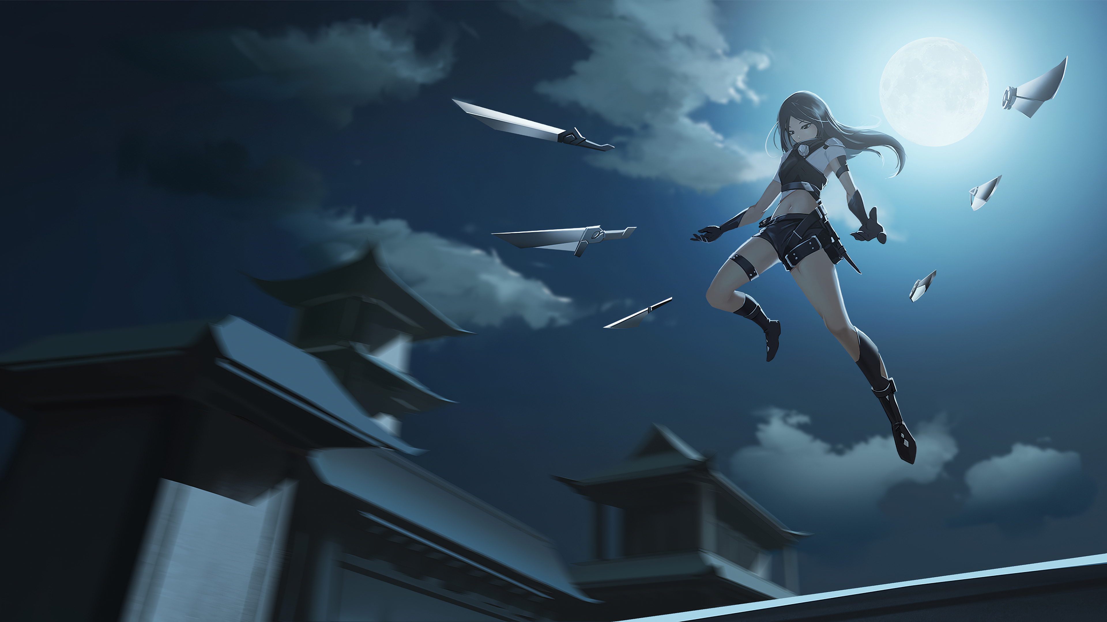 anime girl attack swords small weapons 1578254266 - Anime Girl Attack Swords Small Weapons -