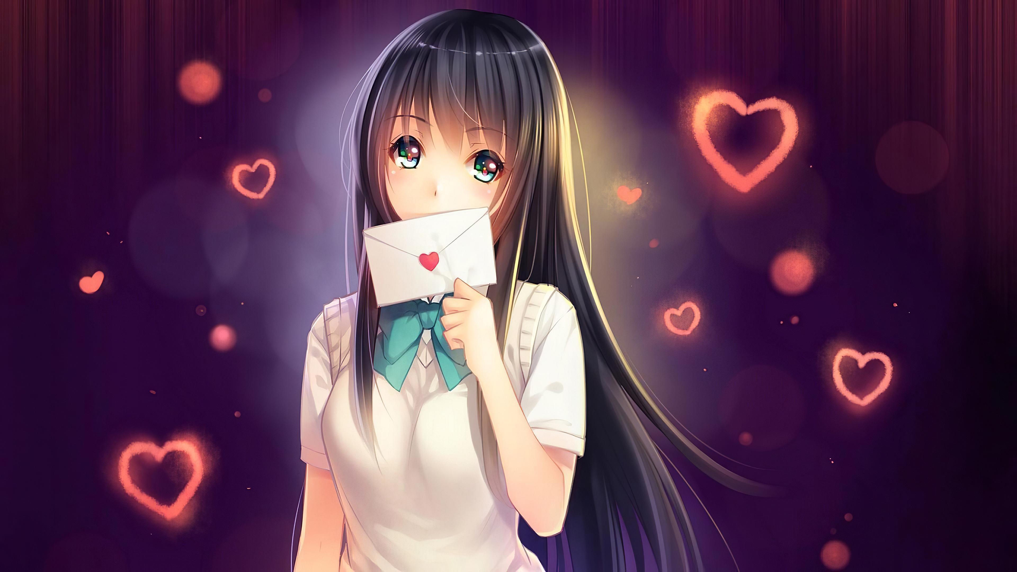anime girl in love with love letter 1578254402 - Anime Girl In Love With Love Letter -