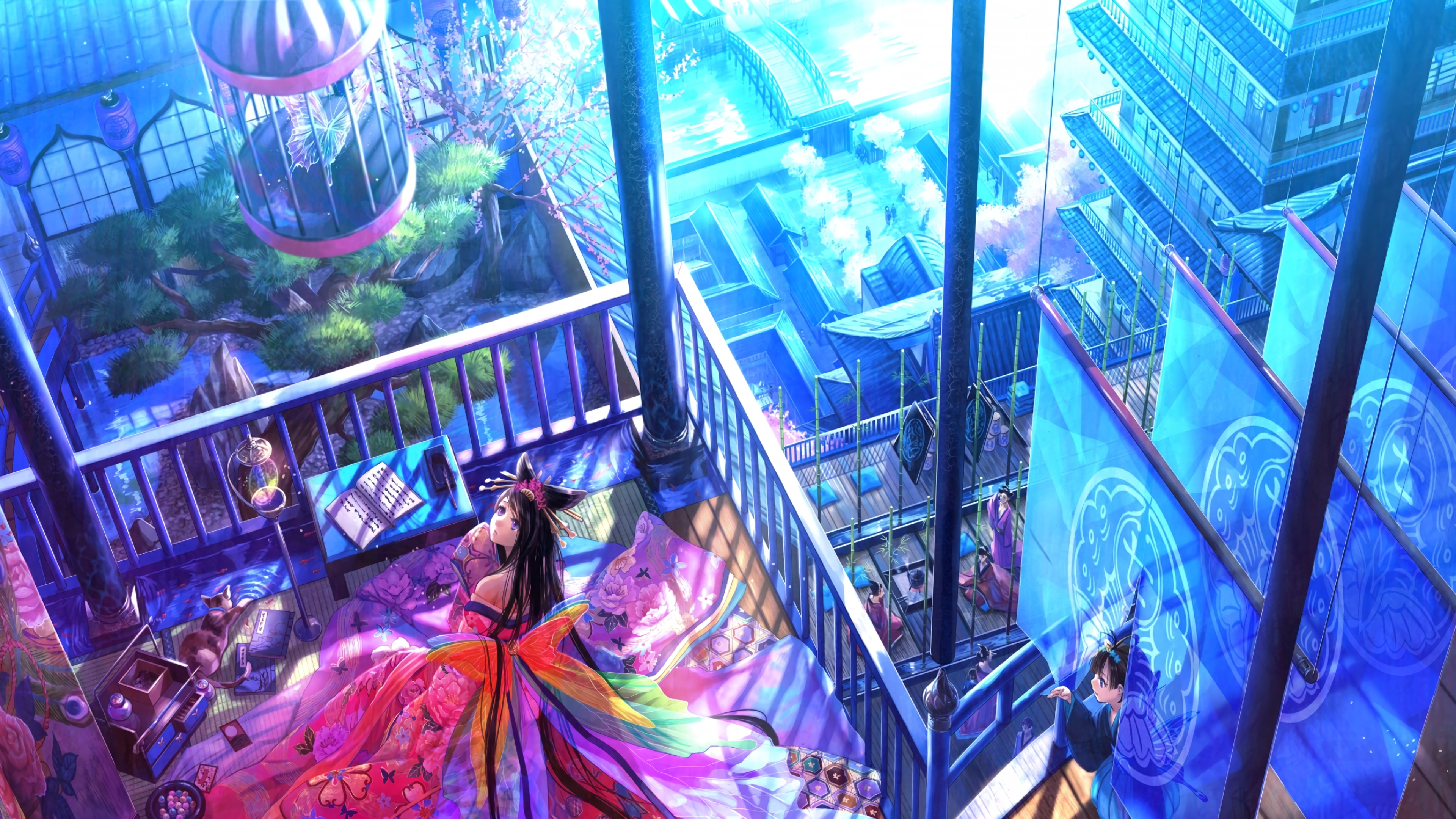 anime girl roof 1578253728 - Anime Girl Roof -