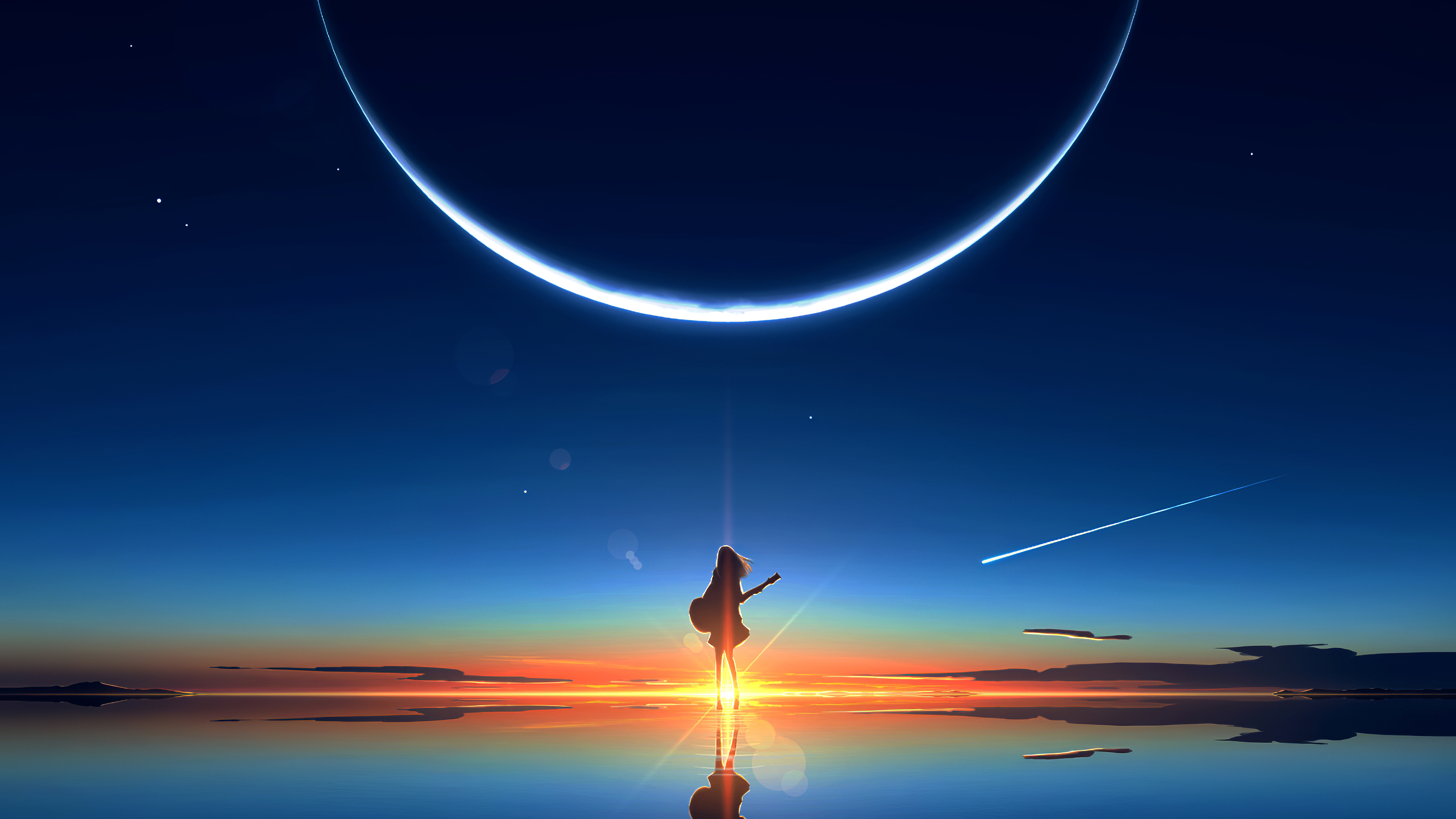 anime girl scenery 1578254329 - Anime Girl Scenery -