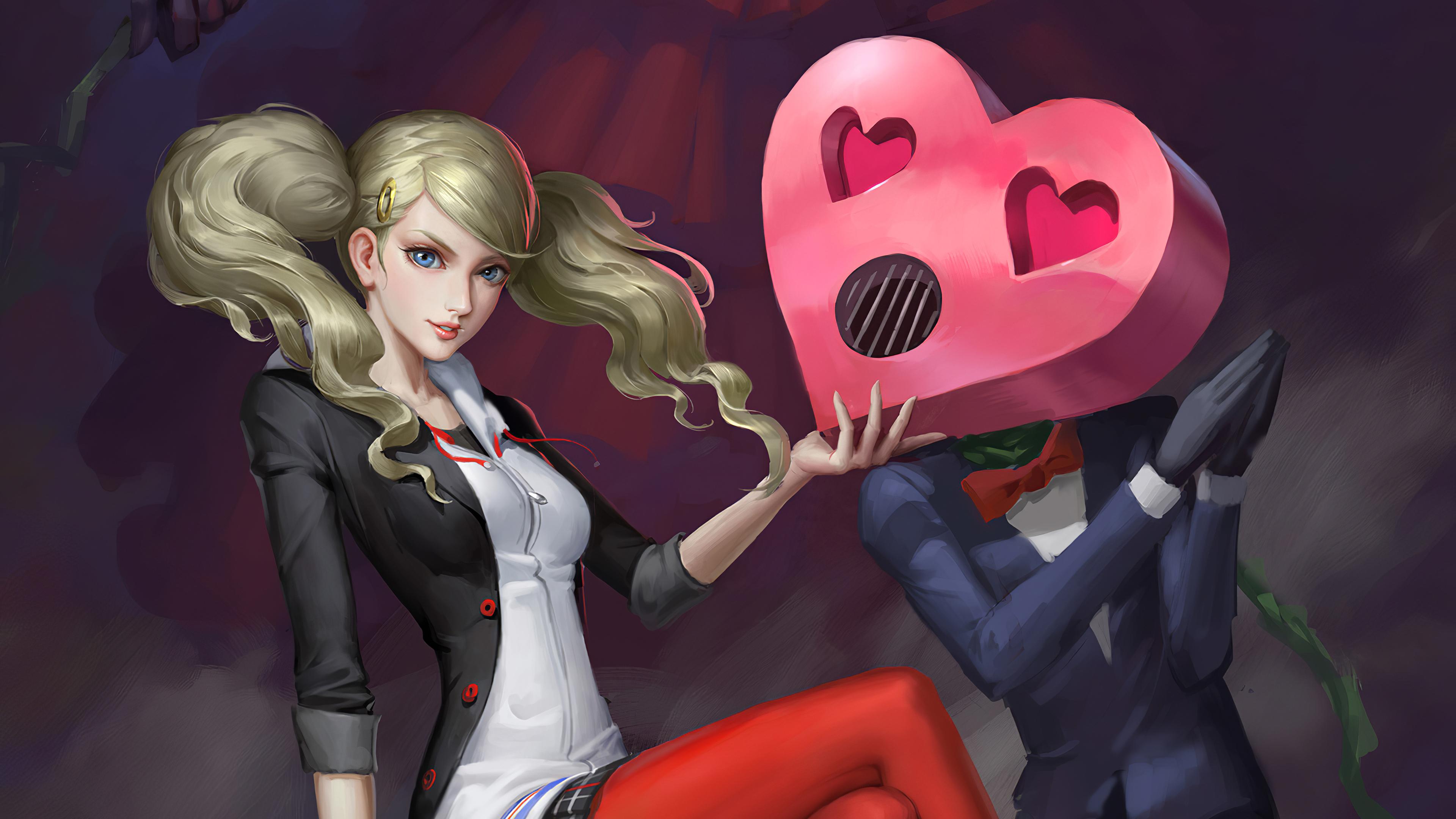anime girl with heart 1578254427 - Anime Girl With Heart -