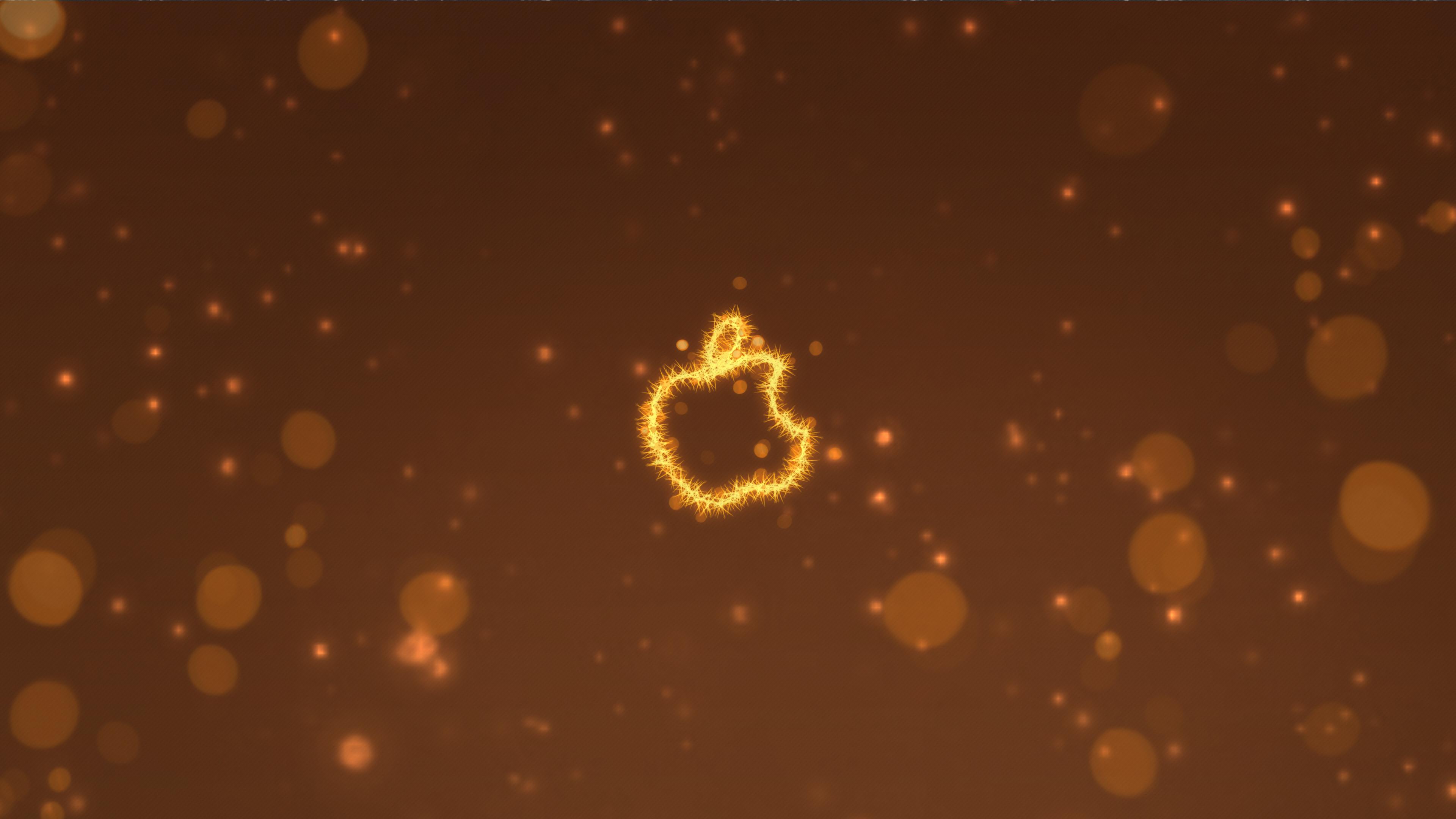 apple logo lighten 4k 8n 3840x2160 1 - Apple Logo Lighten -